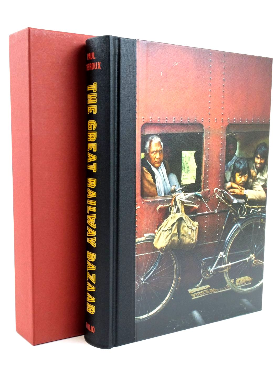 Photo of THE GREAT RAILWAY BAZAAR written by Theroux, Paul published by Folio Society (STOCK CODE: 1318883)  for sale by Stella & Rose's Books