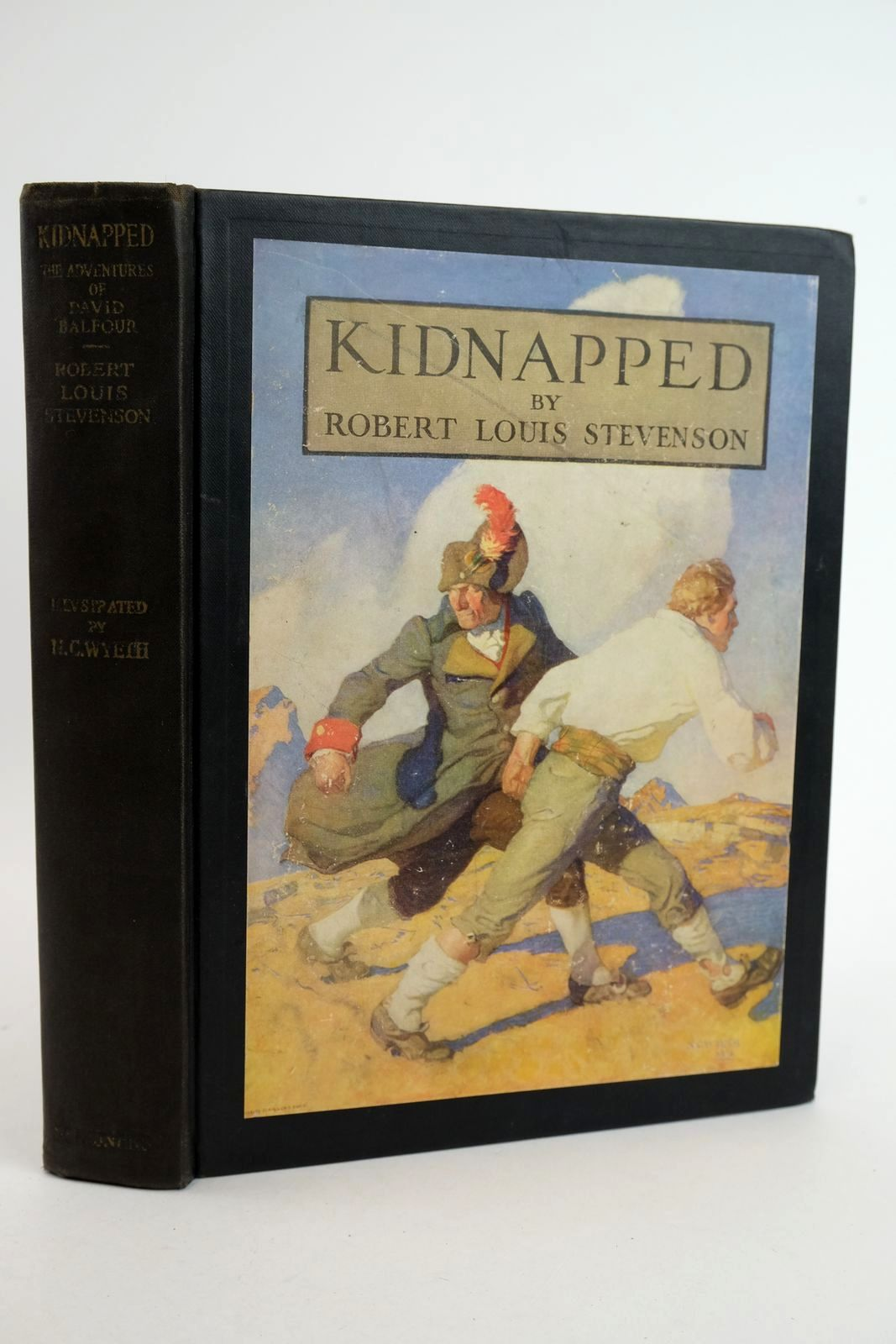 Photo of KIDNAPPED written by Stevenson, Robert Louis illustrated by Wyeth, N.C. published by Charles Scribner's Sons (STOCK CODE: 1318890)  for sale by Stella & Rose's Books