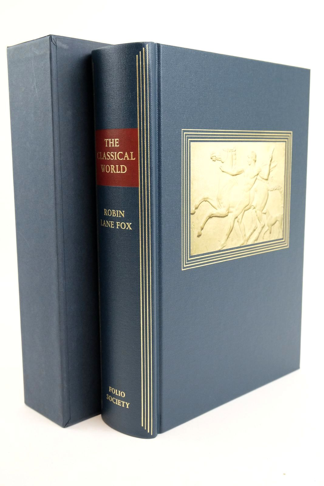 Photo of THE CLASSICAL WORLD: AN EPIC HISTORY OF GREECE AND ROME written by Fox, Robin Lane published by Folio Society (STOCK CODE: 1318898)  for sale by Stella & Rose's Books