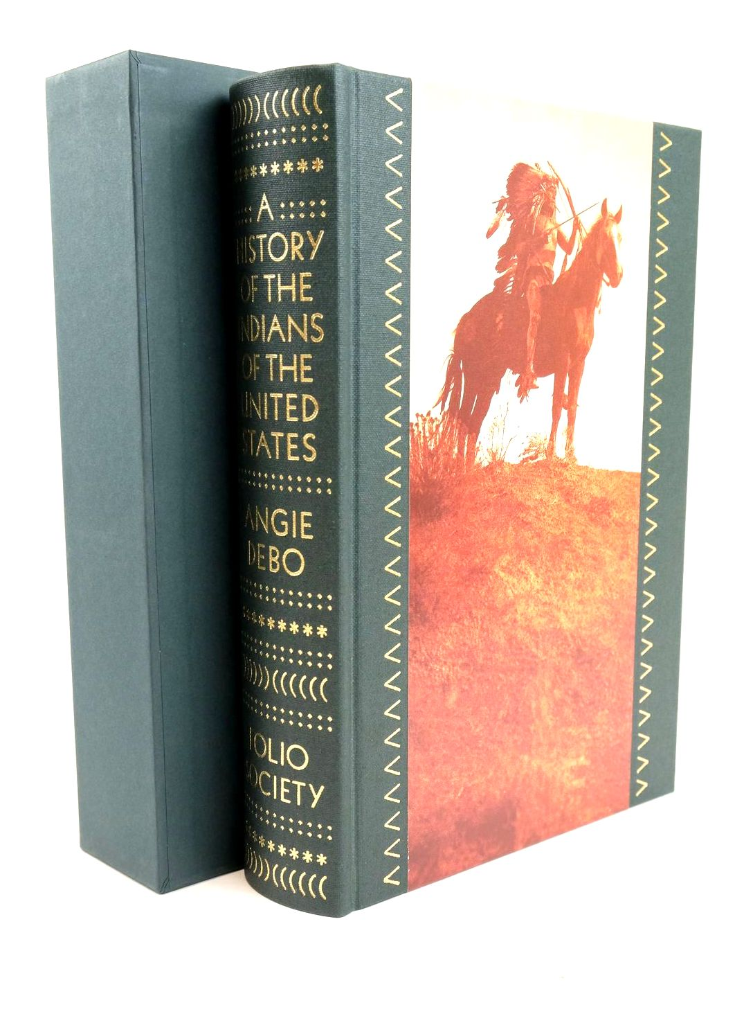 Photo of A HISTORY OF THE INDIANS OF THE UNITED STATES written by Debo, Angie published by Folio Society (STOCK CODE: 1318900)  for sale by Stella & Rose's Books