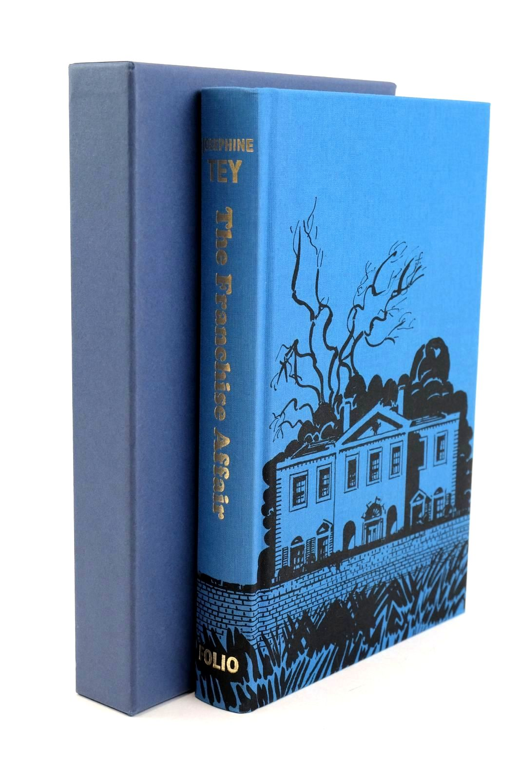 Photo of THE FRANCHISE AFFAIR written by Tey, Josephine Fraser, Antonia illustrated by Hogarth, Paul published by Folio Society (STOCK CODE: 1318916)  for sale by Stella & Rose's Books