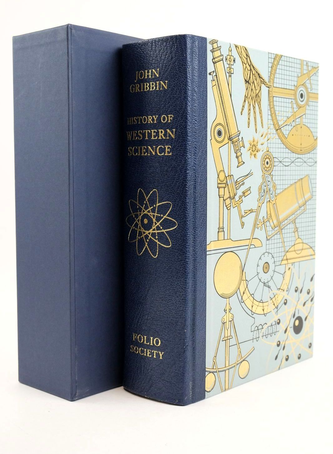 Photo of HISTORY OF WESTERN SCIENCE 1543-2001 written by Gribbin, John published by Folio Society (STOCK CODE: 1318919)  for sale by Stella & Rose's Books