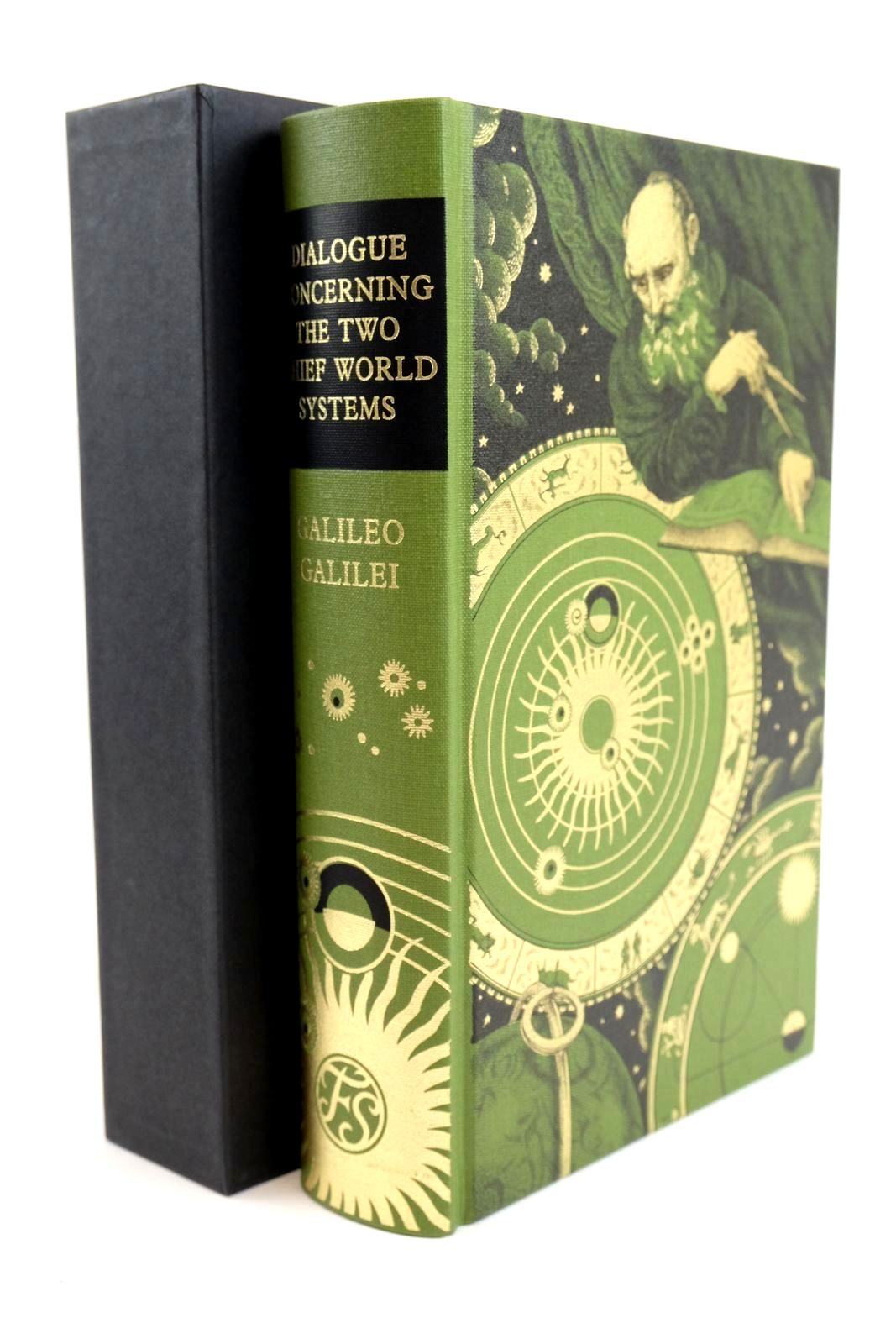 Photo of DIALOGUE CONCERNING THE TWO CHIEF WORLD SYSTEMS: PTOLEMAIC AND COPERNICAN written by Galilei, Galileo Drake, Stillman Einstein, Albert Sobel, Dava published by Folio Society (STOCK CODE: 1318920)  for sale by Stella & Rose's Books