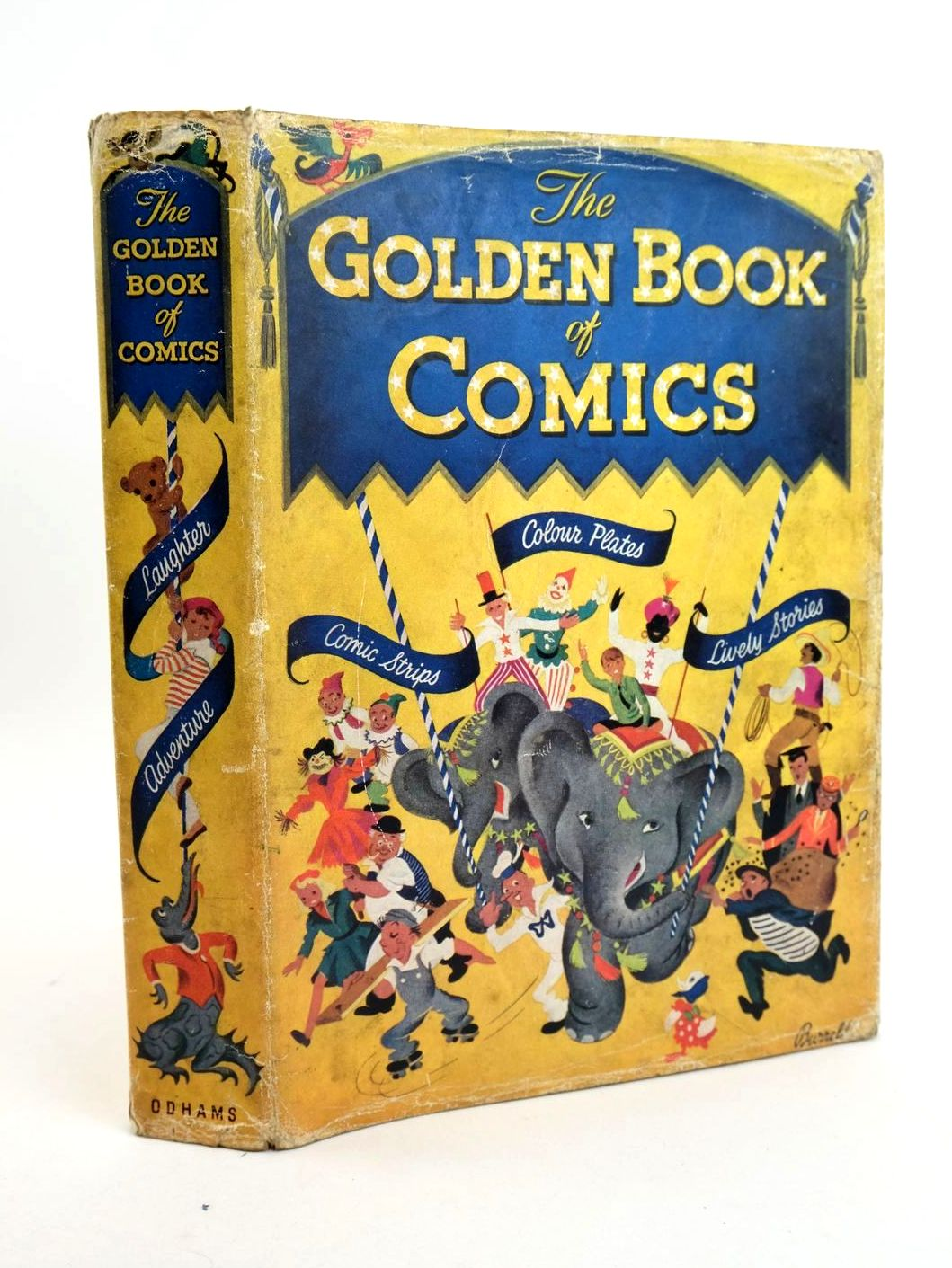 Photo of THE GOLDEN BOOK OF COMICS- Stock Number: 1318934