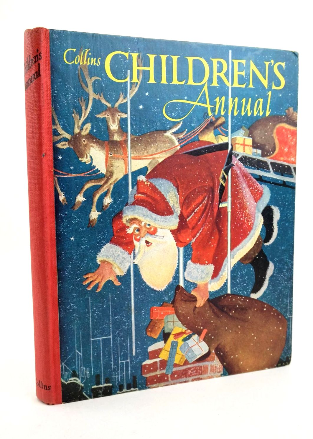 Photo of COLLINS CHILDREN'S ANNUAL written by Boyd, Edward Shaw, Jane Blyton, Enid et al,  illustrated by Boswell, Hilda Helps, Racey Heap, Jean Walmsley et al.,  published by Collins (STOCK CODE: 1318935)  for sale by Stella & Rose's Books