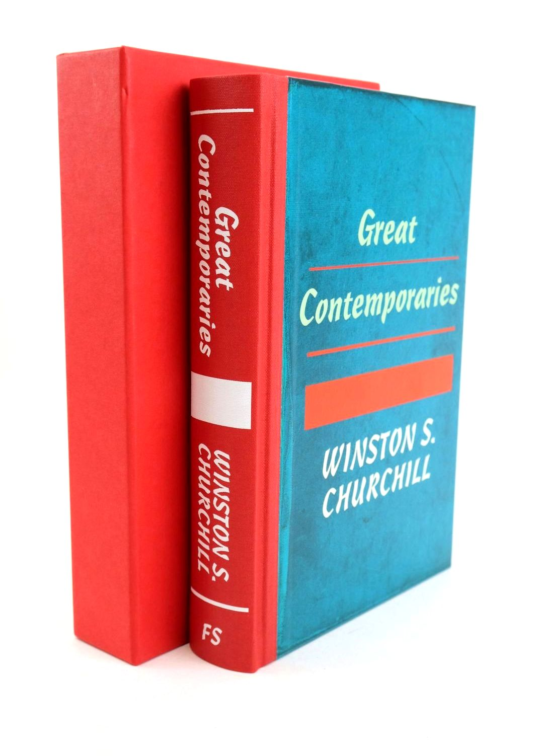 Photo of GREAT CONTEMPORARIES written by Churchill, Winston S. published by Folio Society (STOCK CODE: 1318937)  for sale by Stella & Rose's Books