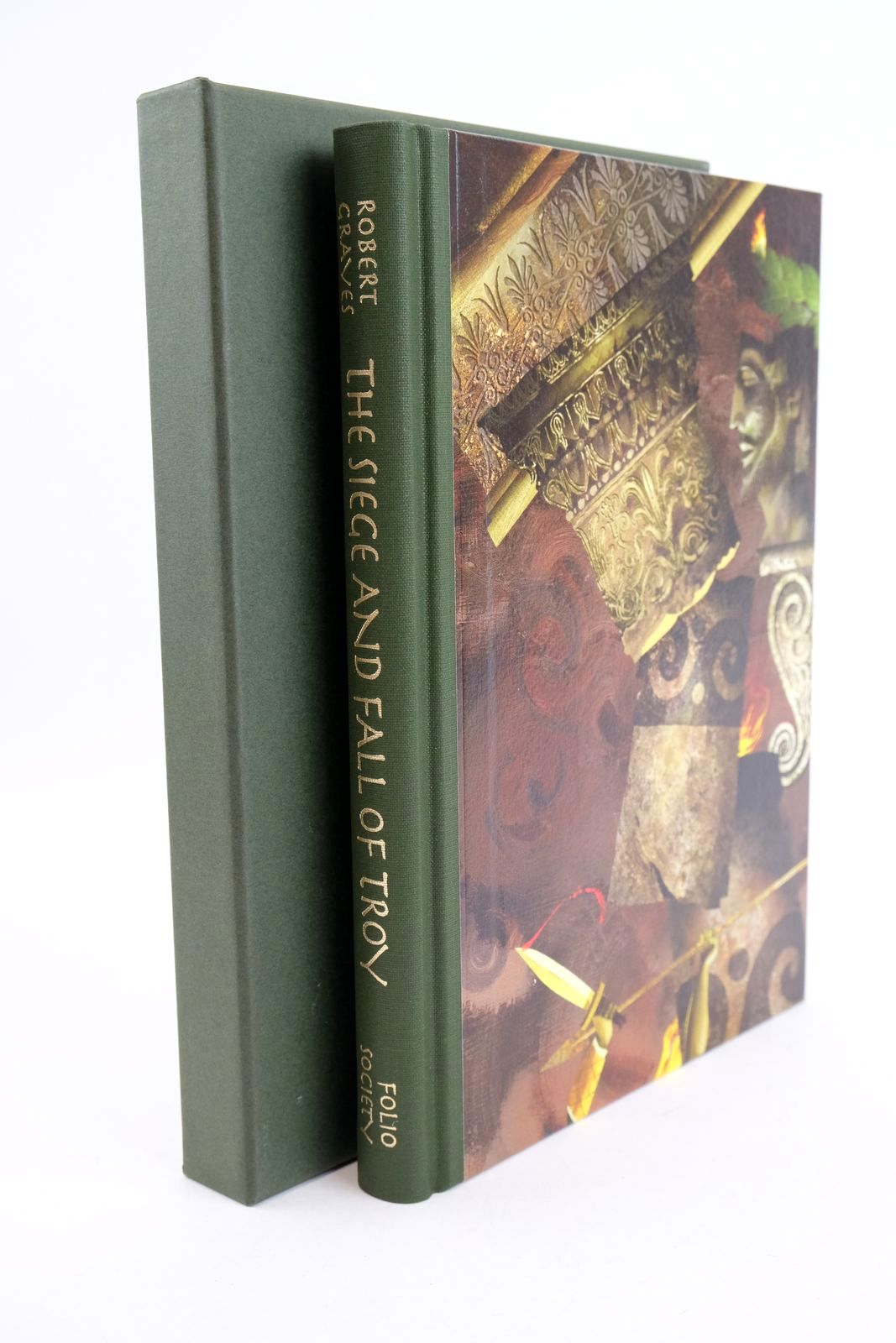 Photo of THE SIEGE AND FALL OF TROY written by Graves, Robert illustrated by Baker, Grahame published by Folio Society (STOCK CODE: 1318942)  for sale by Stella & Rose's Books