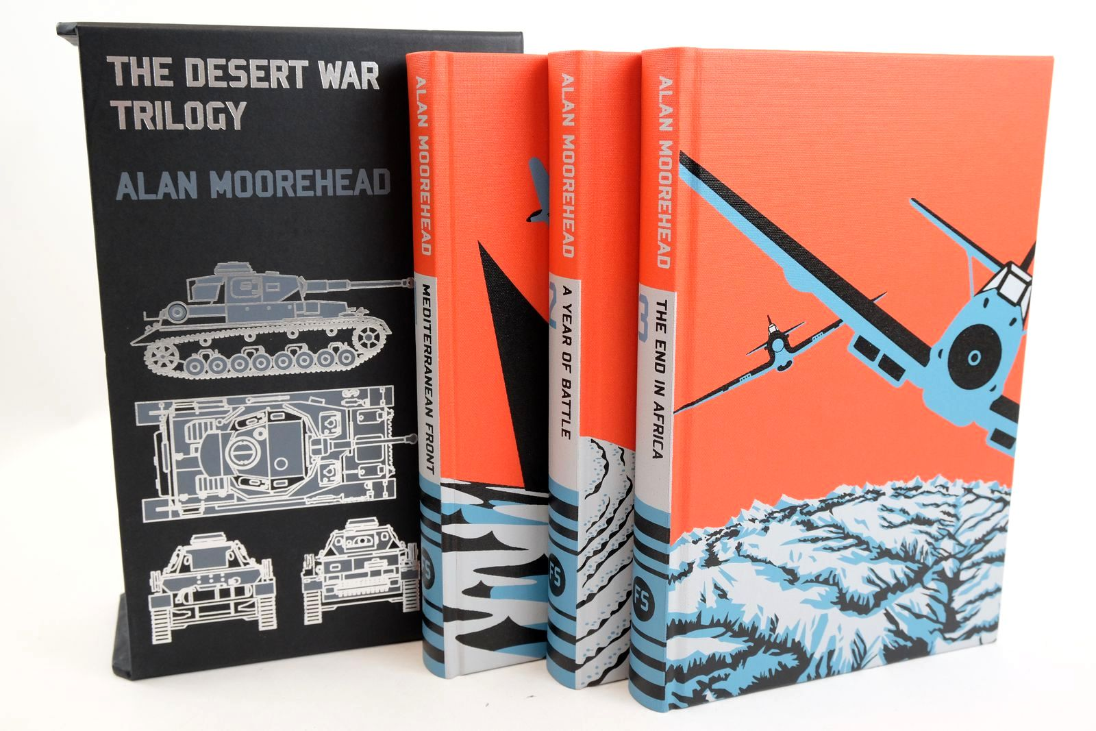 Photo of THE DESERT WAR TRILOGY (3 VOLUMES) written by Moorehead, Alan published by Folio Society (STOCK CODE: 1318944)  for sale by Stella & Rose's Books