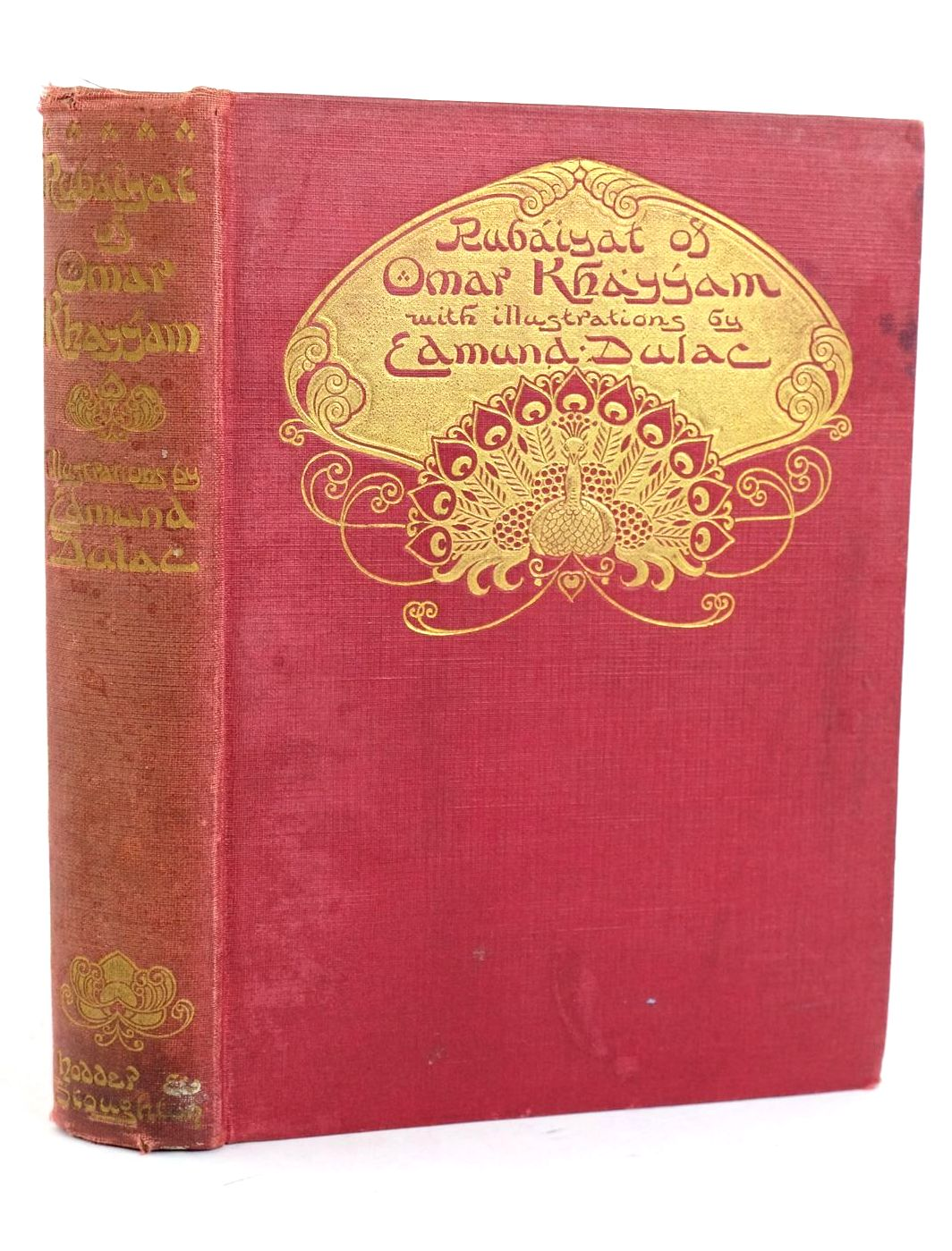 Photo of RUBAIYAT OF OMAR KHAYYAM written by Khayyam, Omar Fitzgerald, Edward illustrated by Dulac, Edmund published by Hodder & Stoughton (STOCK CODE: 1318955)  for sale by Stella & Rose's Books