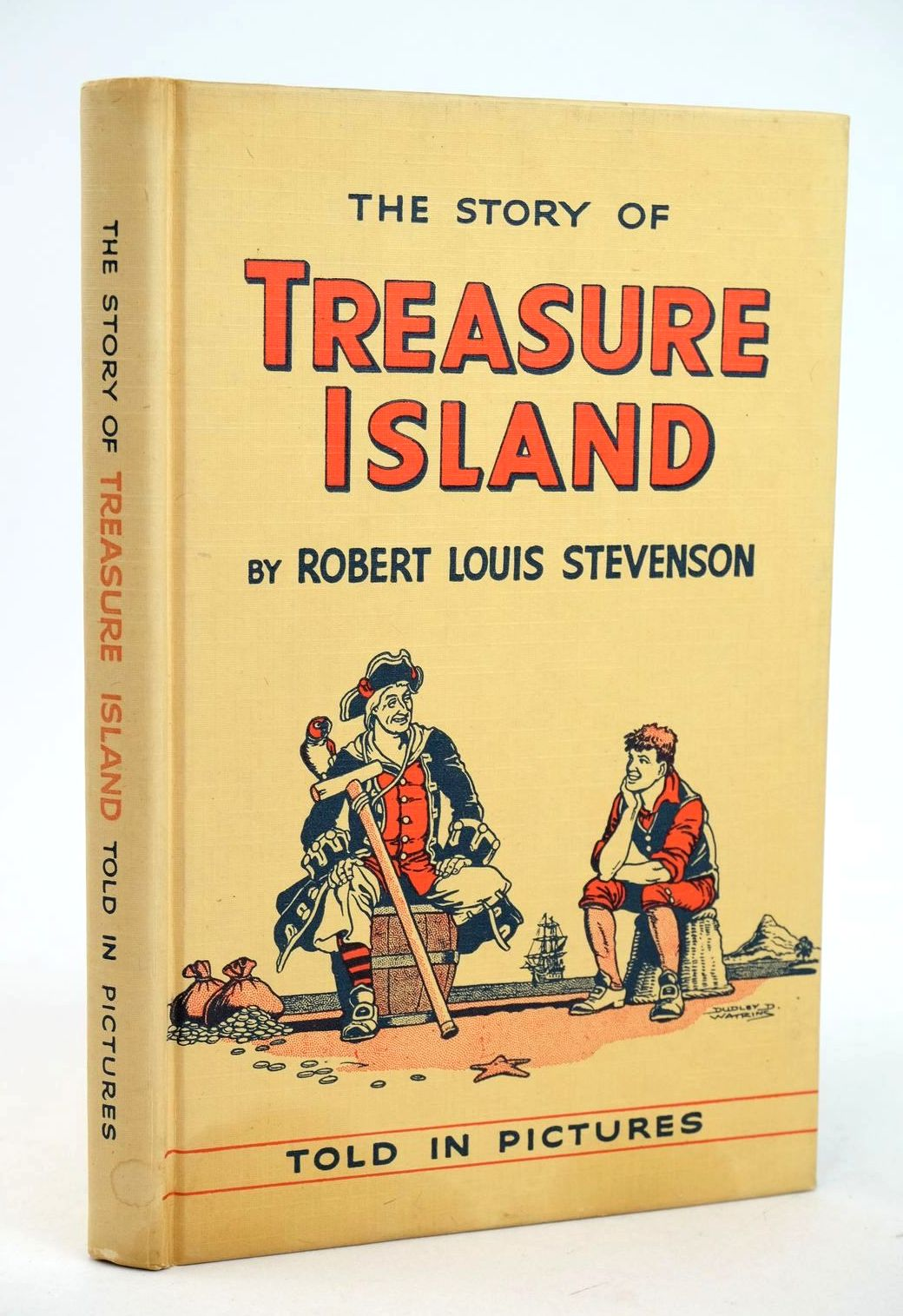 Photo of THE STORY OF TREASURE ISLAND TOLD IN PICTURES written by Stevenson, Robert Louis illustrated by Watkins, Dudley D. published by D.C. Thomson & Co Ltd., John Leng & Co. Ltd. (STOCK CODE: 1318970)  for sale by Stella & Rose's Books