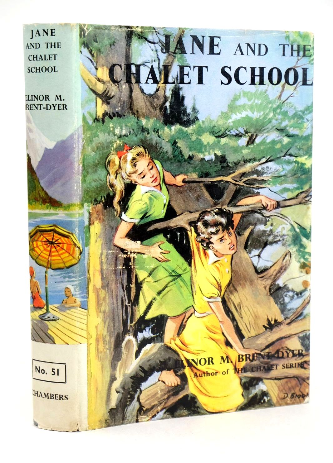 Photo of JANE AND THE CHALET SCHOOL- Stock Number: 1318980