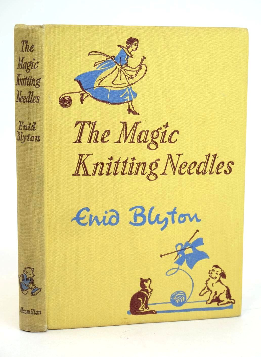 Photo of THE MAGIC KNITTING NEEDLES AND OTHER STORIES written by Blyton, Enid illustrated by Soper, Eileen published by Macmillan & Co. Ltd. (STOCK CODE: 1318989)  for sale by Stella & Rose's Books