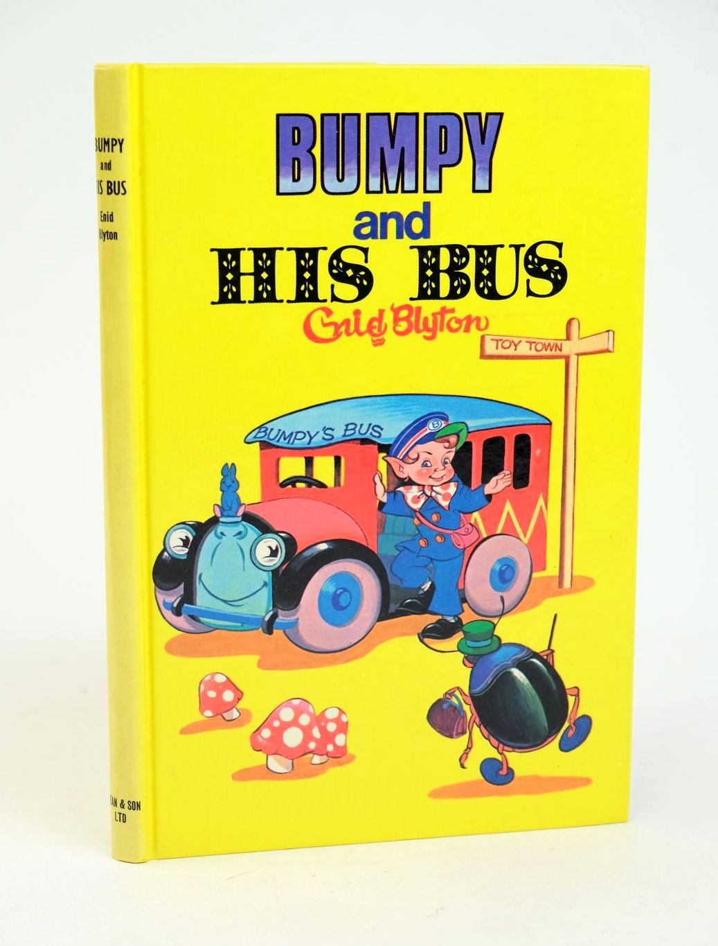 Photo of BUMPY AND HIS BUS- Stock Number: 1318998