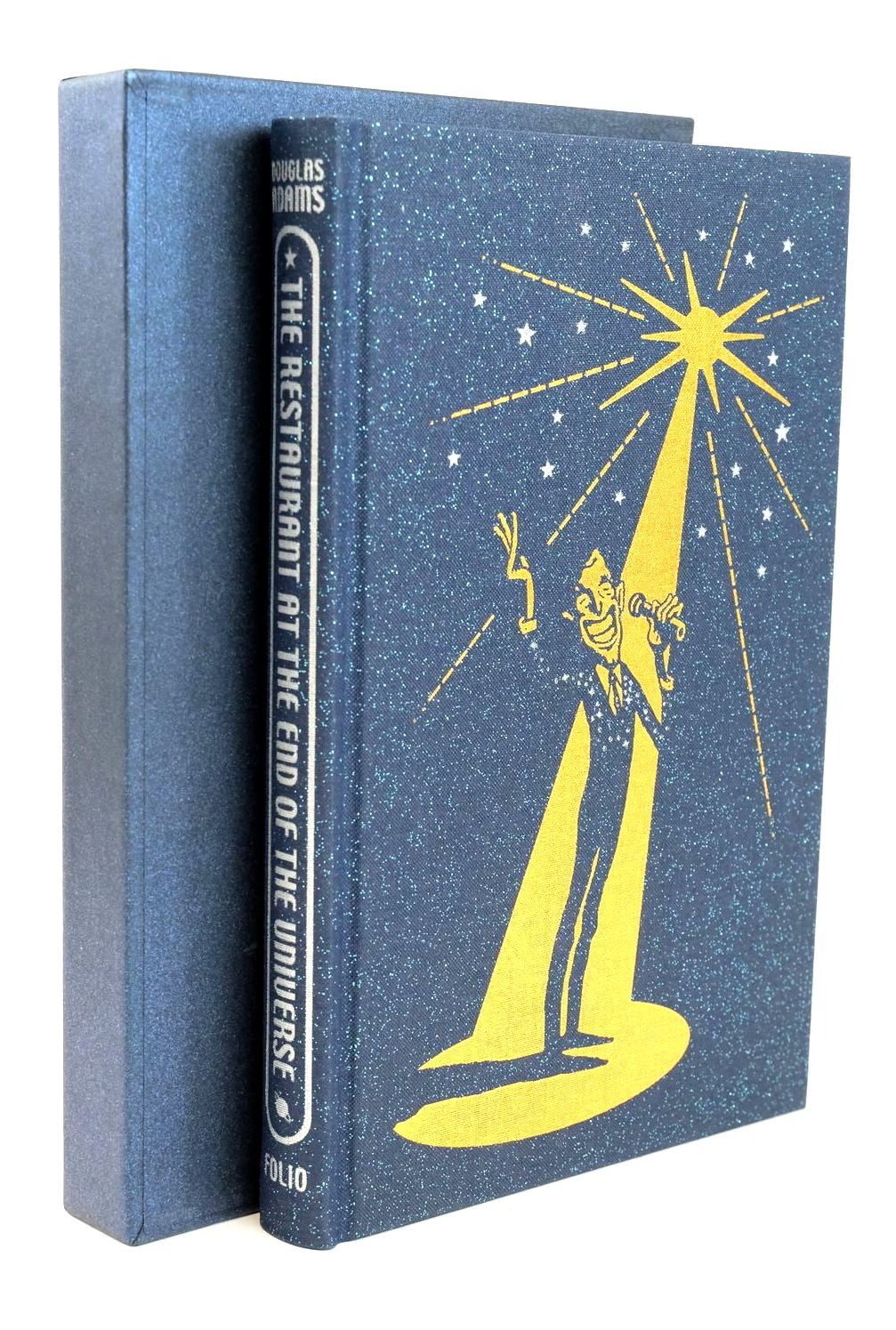 Photo of THE RESTAURANT AT THE END OF THE UNIVERSE written by Adams, Douglas Roberts, Adam illustrated by Burton, Jonathan published by Folio Society (STOCK CODE: 1319010)  for sale by Stella & Rose's Books