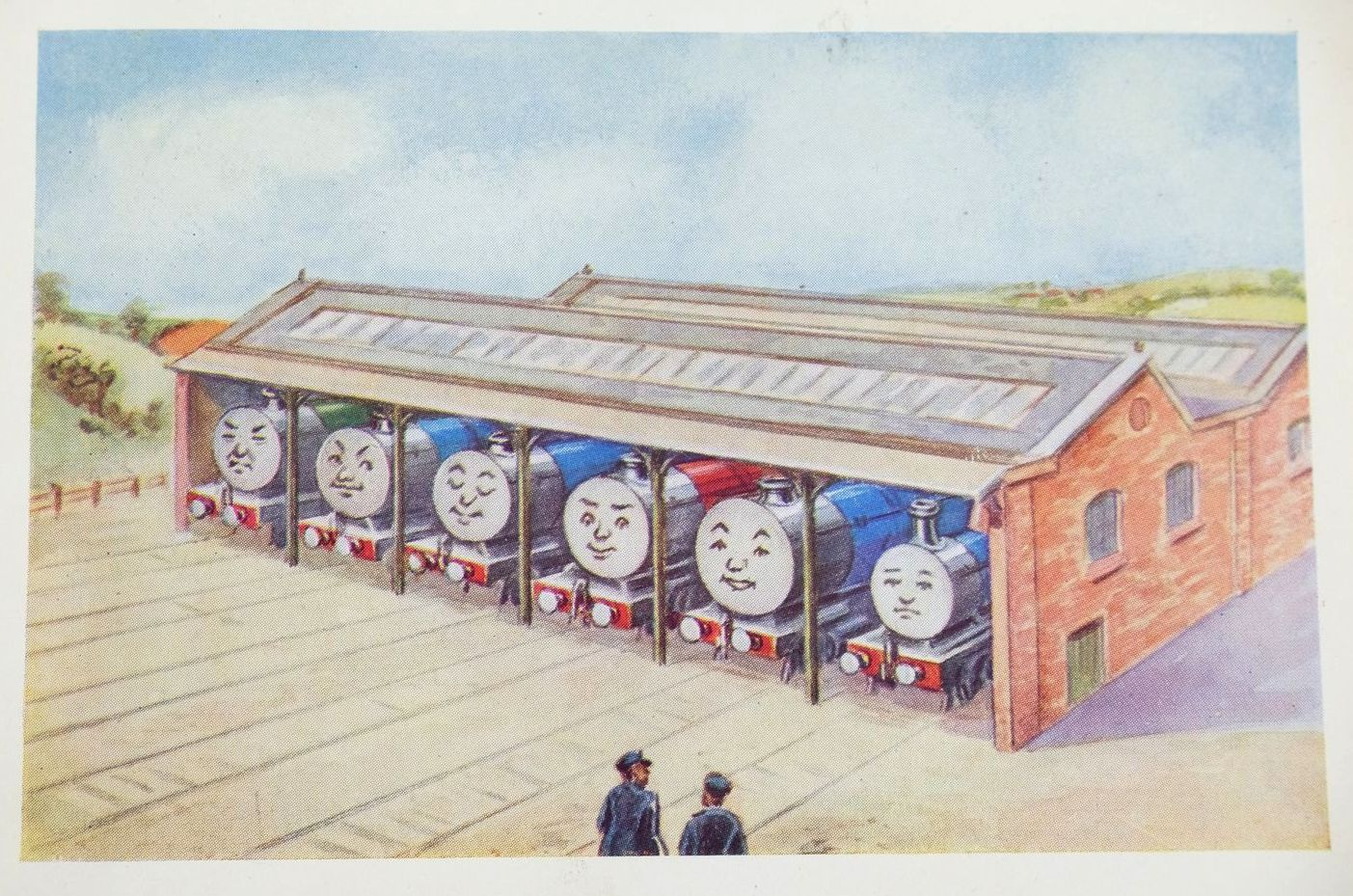Photo of THE THREE RAILWAY ENGINES written by Awdry, Rev. W. illustrated by Middleton, William published by Edmund Ward (STOCK CODE: 1319023)  for sale by Stella & Rose's Books