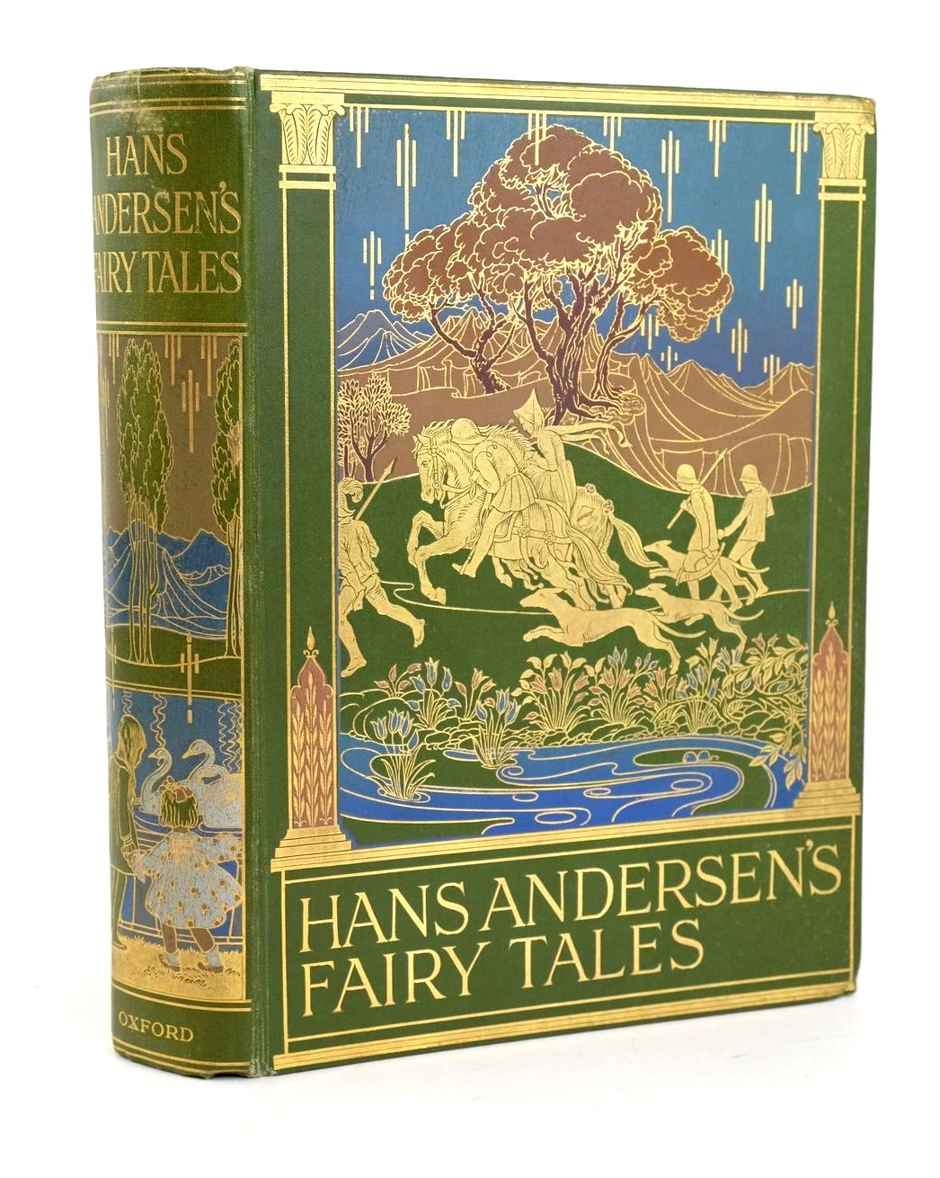 Photo of HANS ANDERSEN'S FAIRY TALES written by Andersen, Hans Christian illustrated by Cramer, Rie Govey, Lilian A. published by Oxford University Press, Humphrey Milford (STOCK CODE: 1319024)  for sale by Stella & Rose's Books