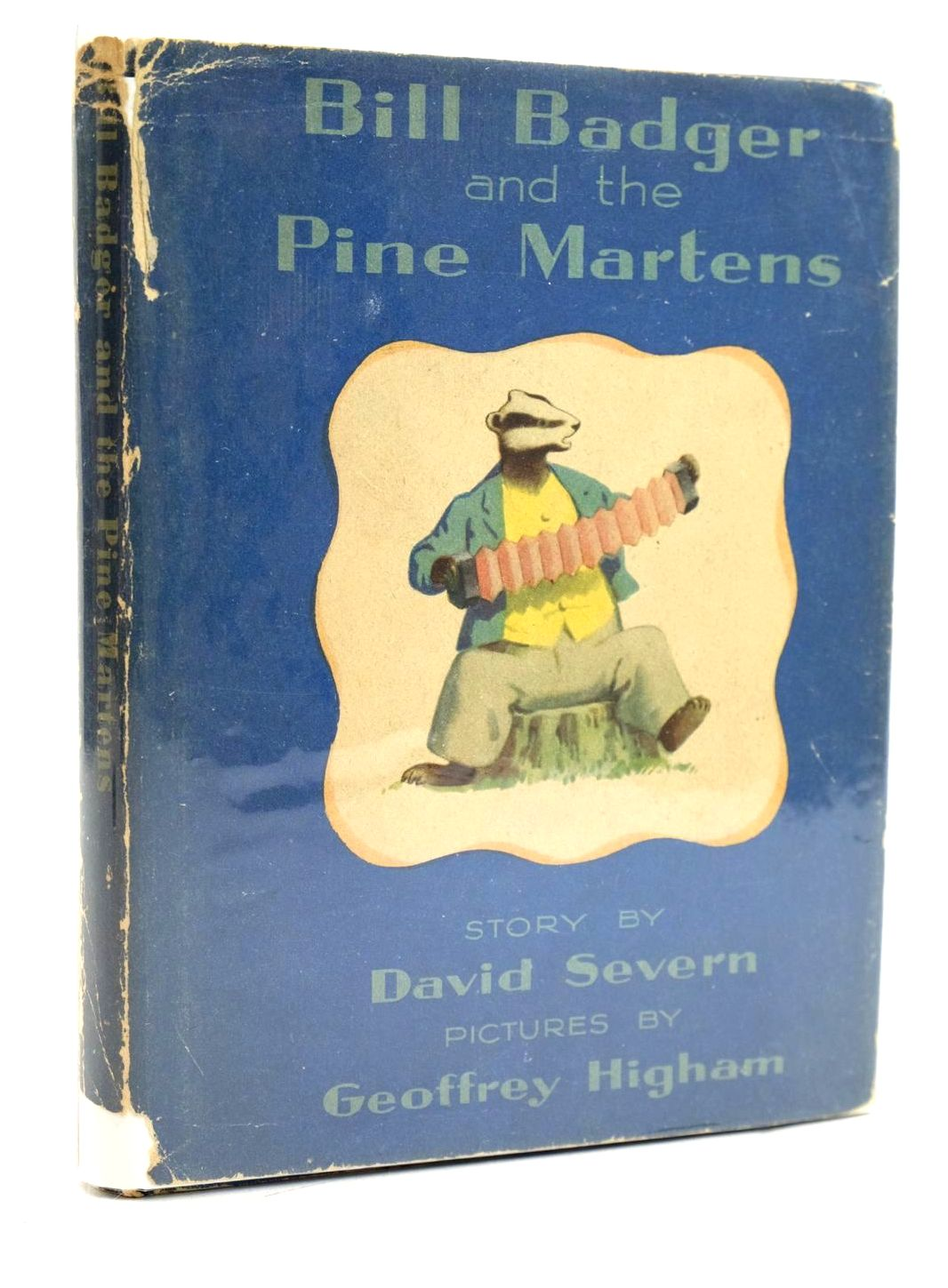 Photo of BILL BADGER AND THE PINE MARTENS written by Severn, David illustrated by Higham, Geoffrey published by The Bodley Head (STOCK CODE: 1319037)  for sale by Stella & Rose's Books