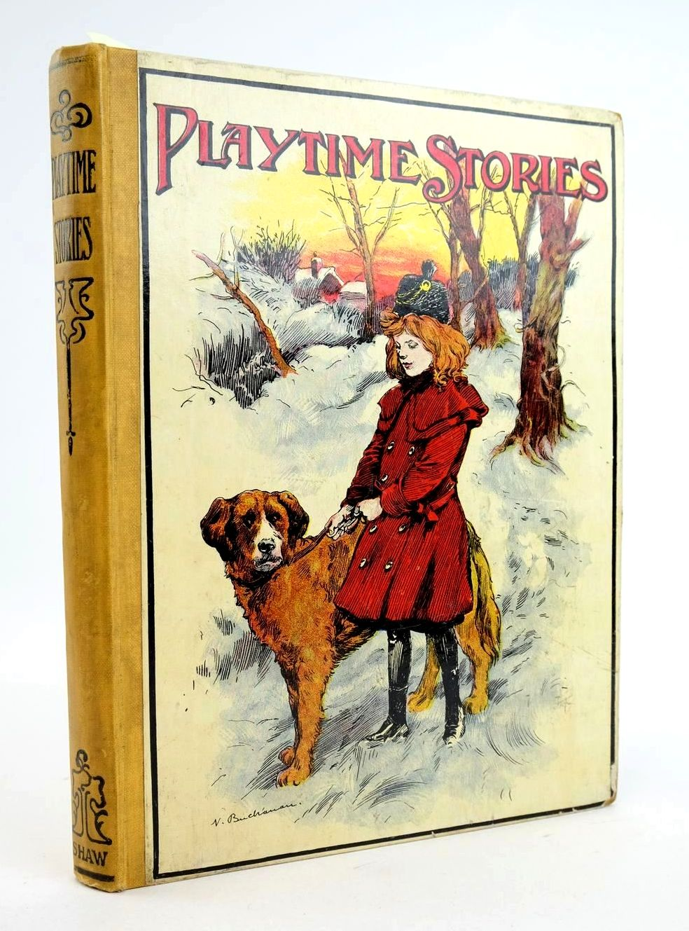 Photo of PLAYTIME STORIES illustrated by Wain, Louis Neilson, Harry B. Helmer, Levine et al., published by John F. Shaw & Co Ltd. (STOCK CODE: 1319054)  for sale by Stella & Rose's Books