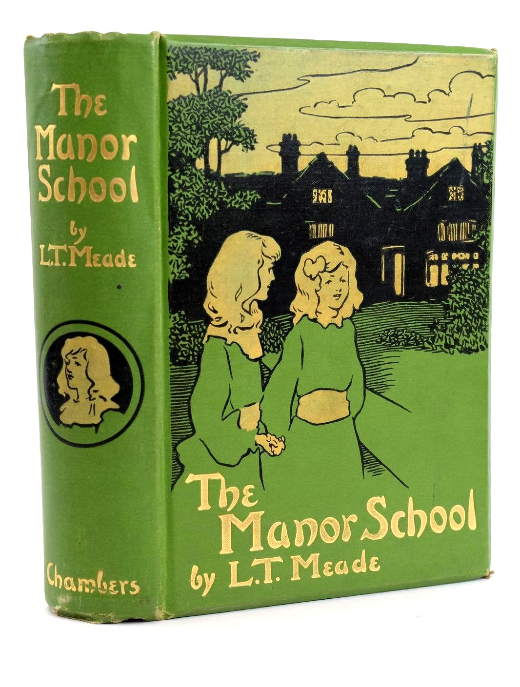 Photo of THE MANOR SCHOOL written by Meade, L.T. illustrated by Baumer, Lewis published by W. & R. Chambers Limited (STOCK CODE: 1319063)  for sale by Stella & Rose's Books