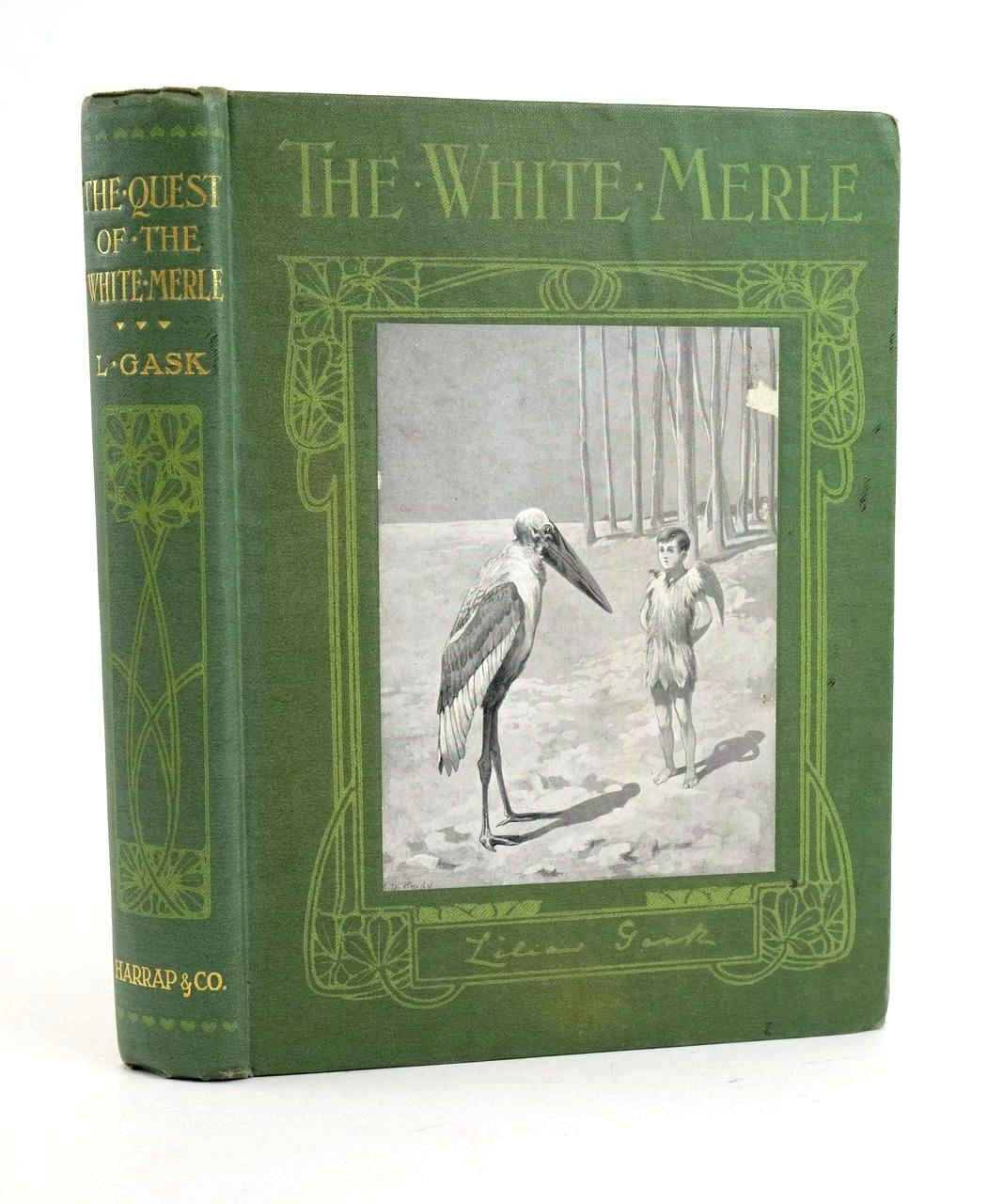 Photo of THE QUEST OF THE WHITE MERLE written by Gask, Lilian illustrated by Hardy, Dorothy published by George G. Harrap & Co. (STOCK CODE: 1319064)  for sale by Stella & Rose's Books
