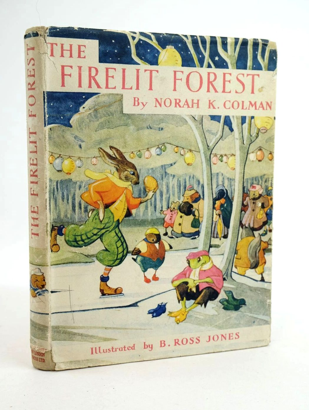 Photo of THE FIRELIT FOREST written by Colman, Norah K. illustrated by Jones, B. Ross published by University of London Press Ltd. (STOCK CODE: 1319065)  for sale by Stella & Rose's Books