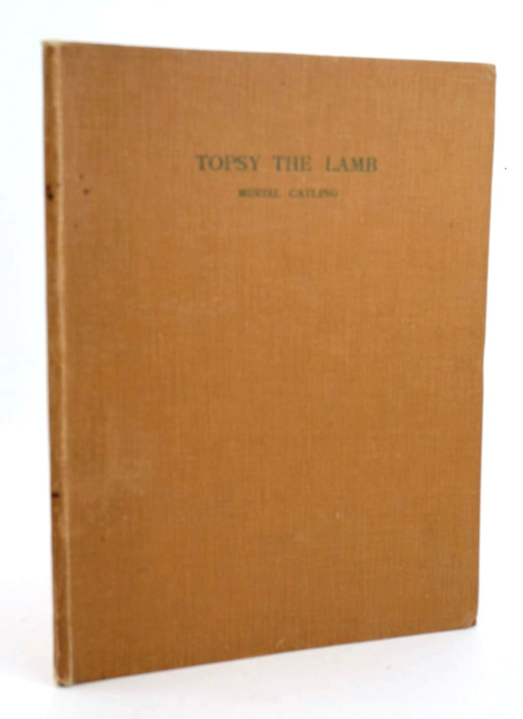 Photo of TOPSY THE AUTOBIOGRAPHY OF A WINTER LAMB written by Catling, Muriel illustrated by Catling, Muriel published by Arthur H. Stockwell Ltd. (STOCK CODE: 1319066)  for sale by Stella & Rose's Books