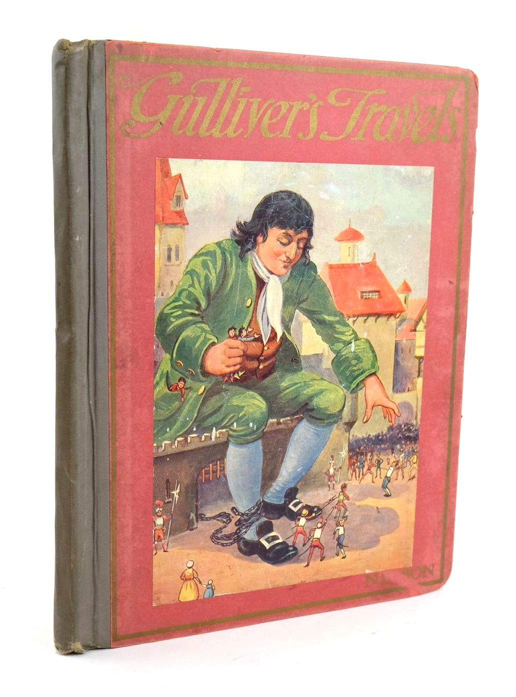 Photo of GULLIVER'S TRAVELS written by Swift, Jonathan Fordyce, W. Dingwell published by Thomas Nelson & Sons (STOCK CODE: 1319067)  for sale by Stella & Rose's Books