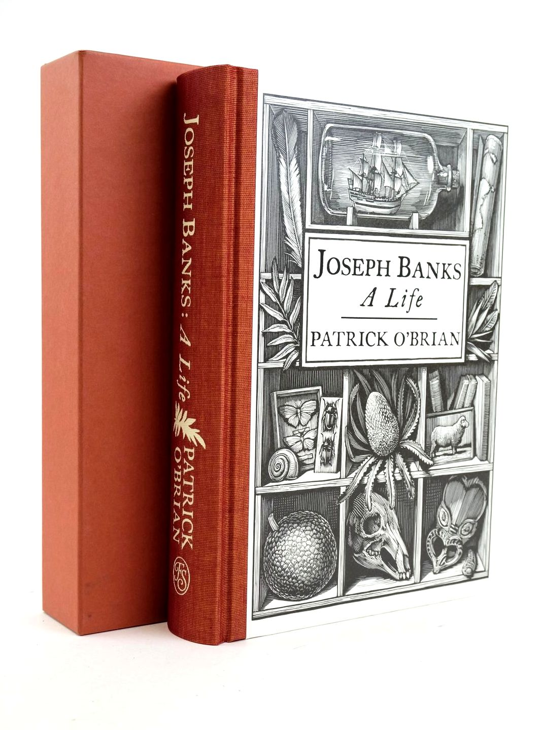 Photo of JOSEPH BANKS A LIFE written by O'Brian, Patrick Campbell, Peter published by Folio Society (STOCK CODE: 1319070)  for sale by Stella & Rose's Books
