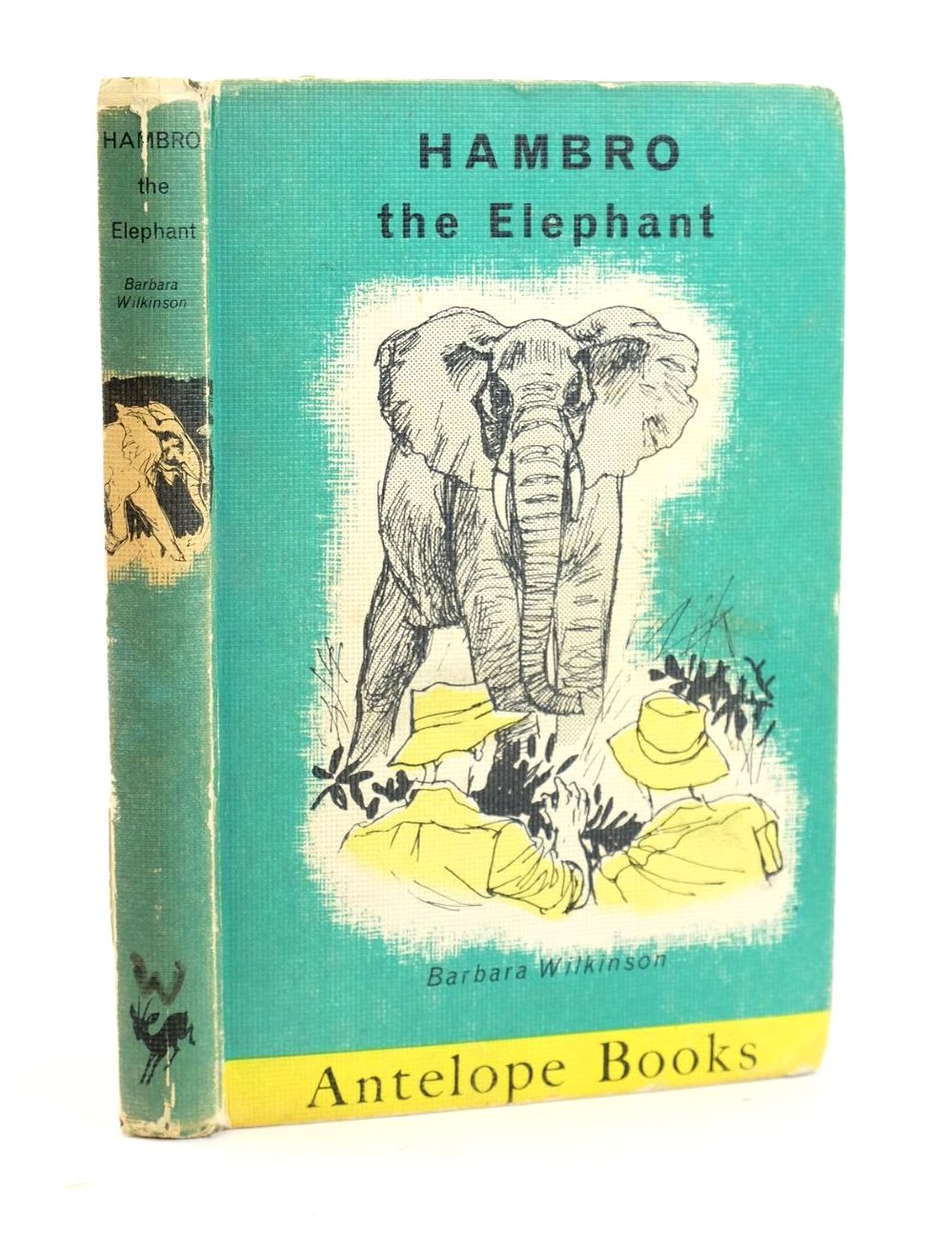 Photo of HAMBRO THE ELEPHANT written by Wilkinson, Barbara illustrated by Palmer, Juliette published by Hamish Hamilton Ltd (STOCK CODE: 1319108)  for sale by Stella & Rose's Books