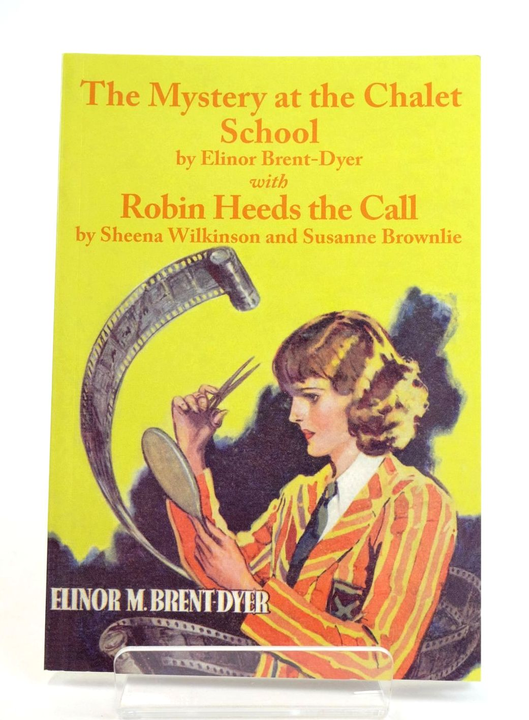 Photo of THE MYSTERY AT THE CHALET SCHOOL WITH ROBIN HEEDS THE CALL written by Brent-Dyer, Elinor M. Wilkinson, Sheena Brownlie, Susanne published by Girls Gone By (STOCK CODE: 1319110)  for sale by Stella & Rose's Books