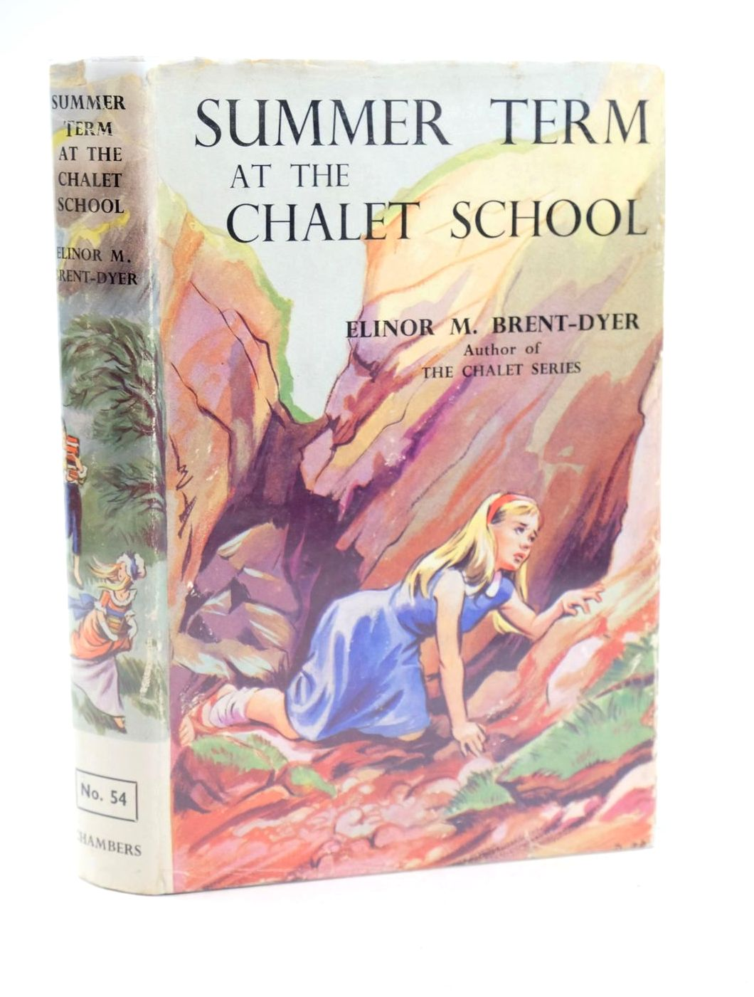 Photo of SUMMER TERM AT THE CHALET SCHOOL written by Brent-Dyer, Elinor M. illustrated by Brook, D. published by W. & R. Chambers Limited (STOCK CODE: 1319119)  for sale by Stella & Rose's Books