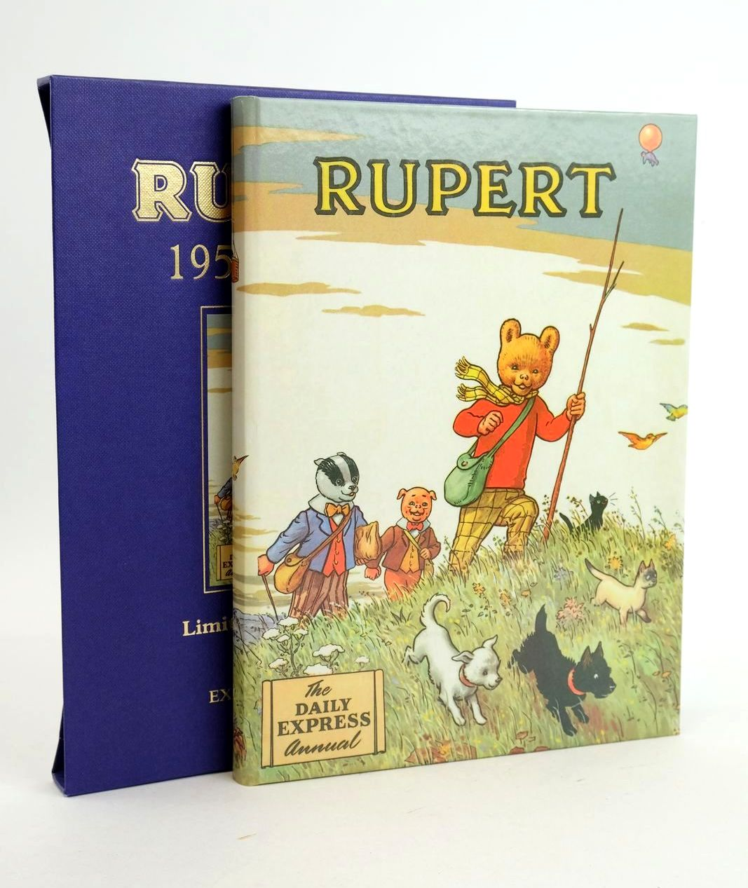 Photo of RUPERT ANNUAL 1955 (FACSIMILE) written by Bestall, Alfred illustrated by Bestall, Alfred published by Express Newspapers Ltd. (STOCK CODE: 1319123)  for sale by Stella & Rose's Books