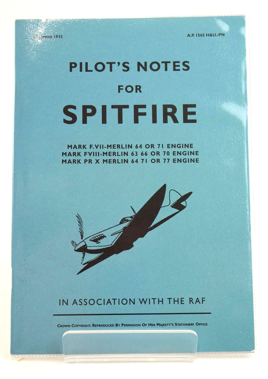 Photo of PILOT'S NOTES FOR THE SPITFIRE published by Eaglemoss Publications (STOCK CODE: 1319126)  for sale by Stella & Rose's Books