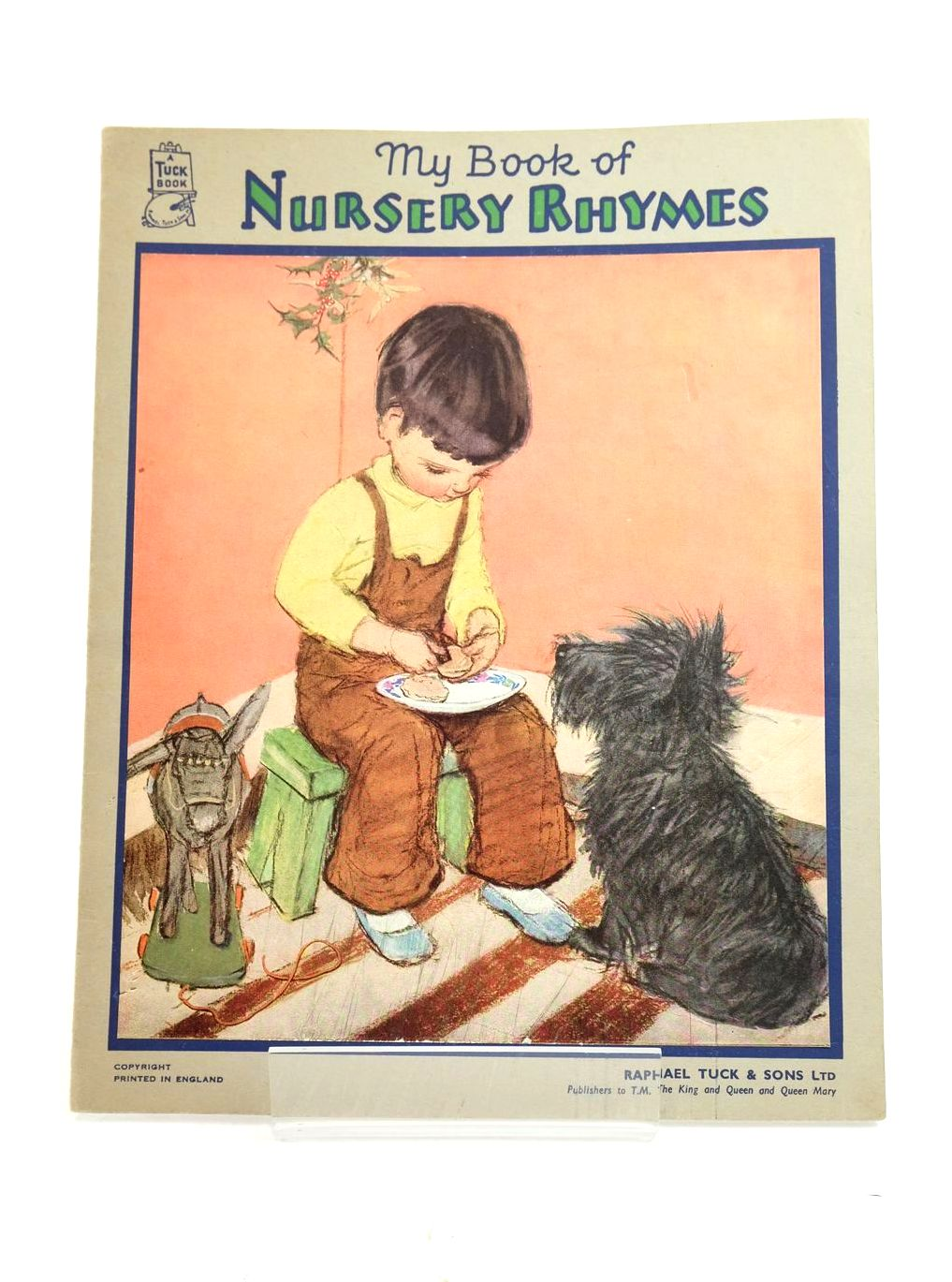 Photo of MY BOOK OF NURSERY RHYMES illustrated by Dawson, Muriel published by Raphael Tuck & Sons Ltd. (STOCK CODE: 1319127)  for sale by Stella & Rose's Books