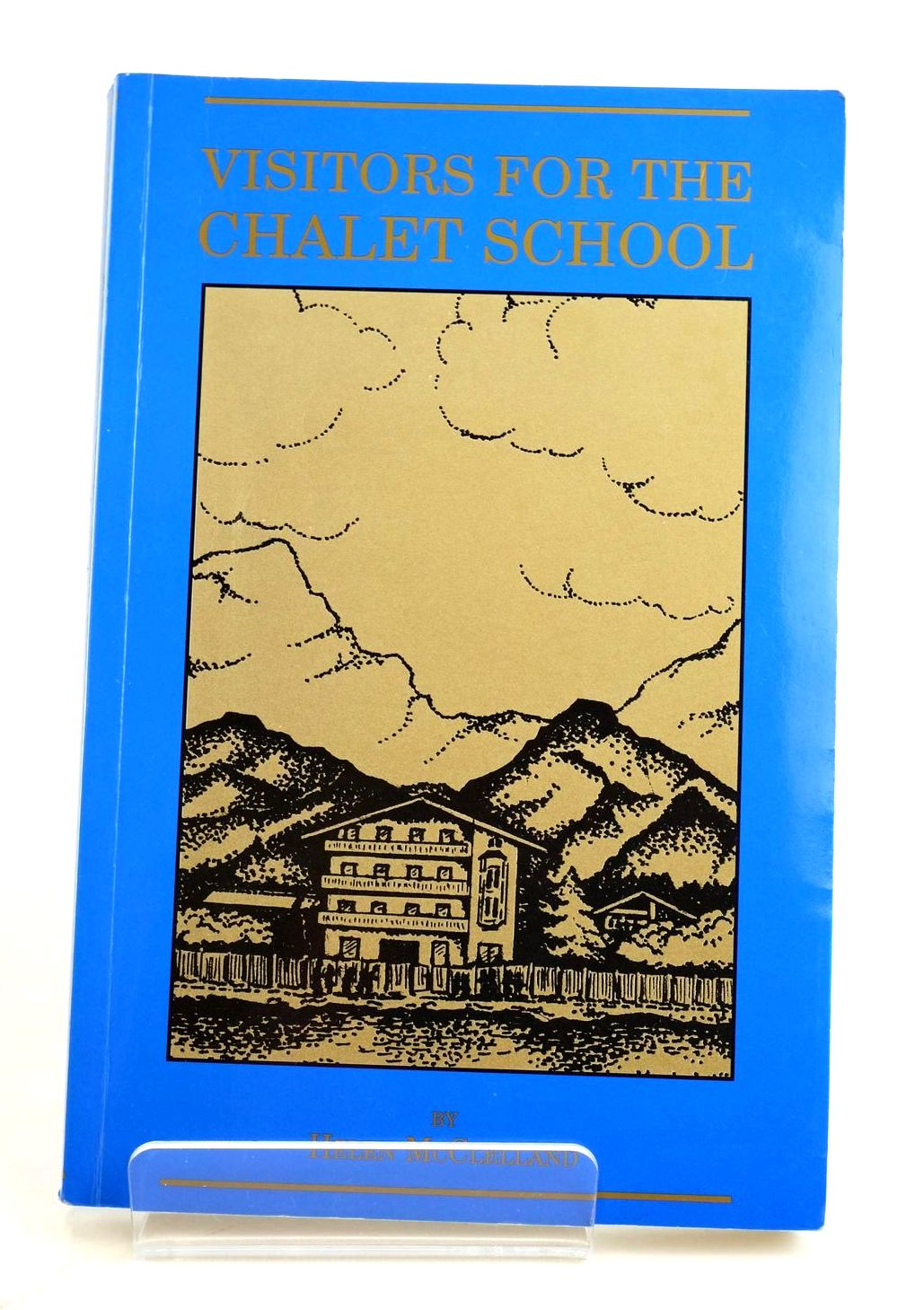 Photo of VISITORS FOR THE CHALET SCHOOL written by Brent-Dyer, Elinor M. McClelland, Helen illustrated by Thompson, Anne published by Bettany Press (STOCK CODE: 1319151)  for sale by Stella & Rose's Books