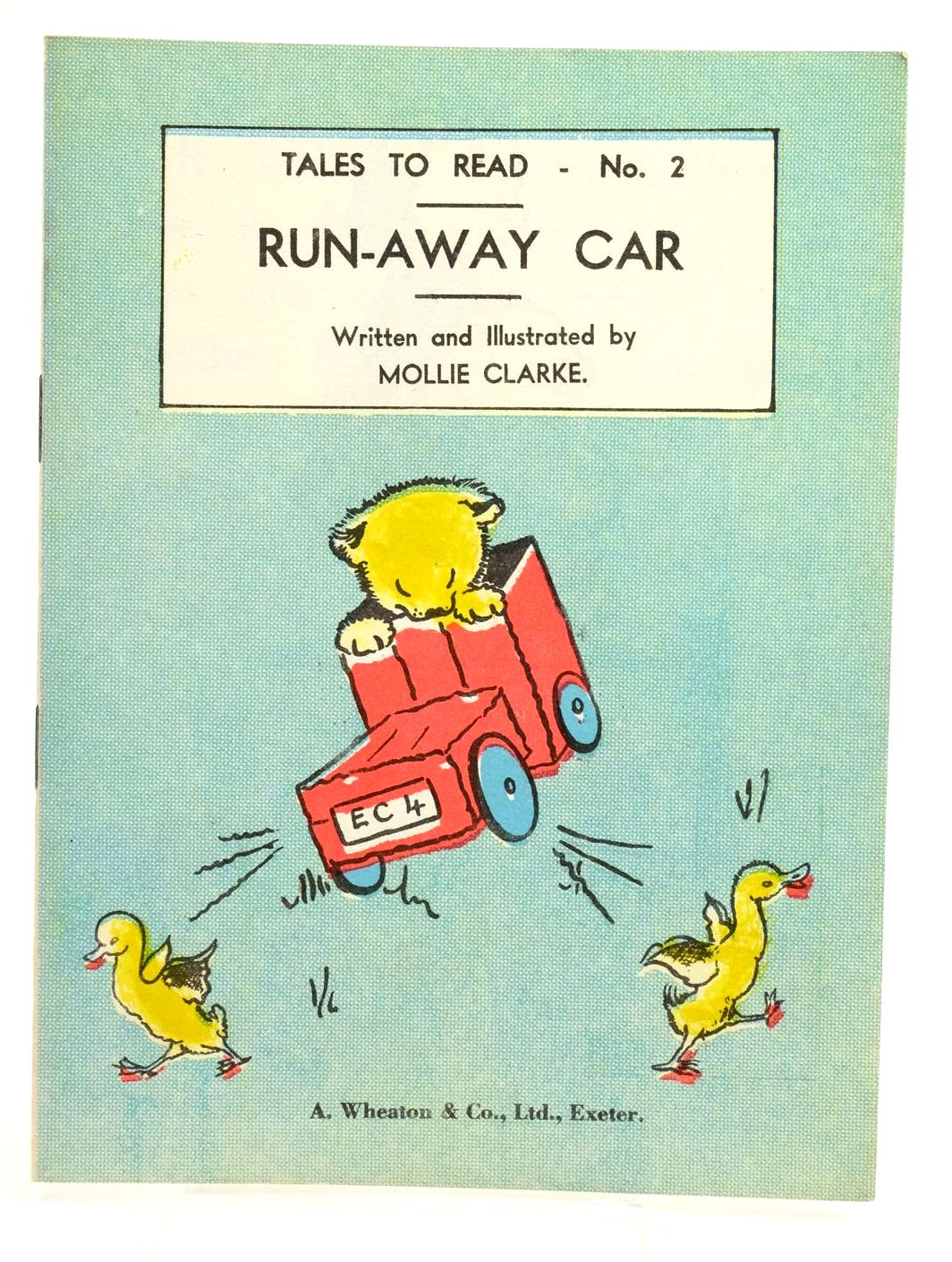 Photo of RUN-AWAY CAR written by Clarke, Mollie illustrated by Clarke, Mollie published by A. Wheaton & Co. Ltd. (STOCK CODE: 1319161)  for sale by Stella & Rose's Books