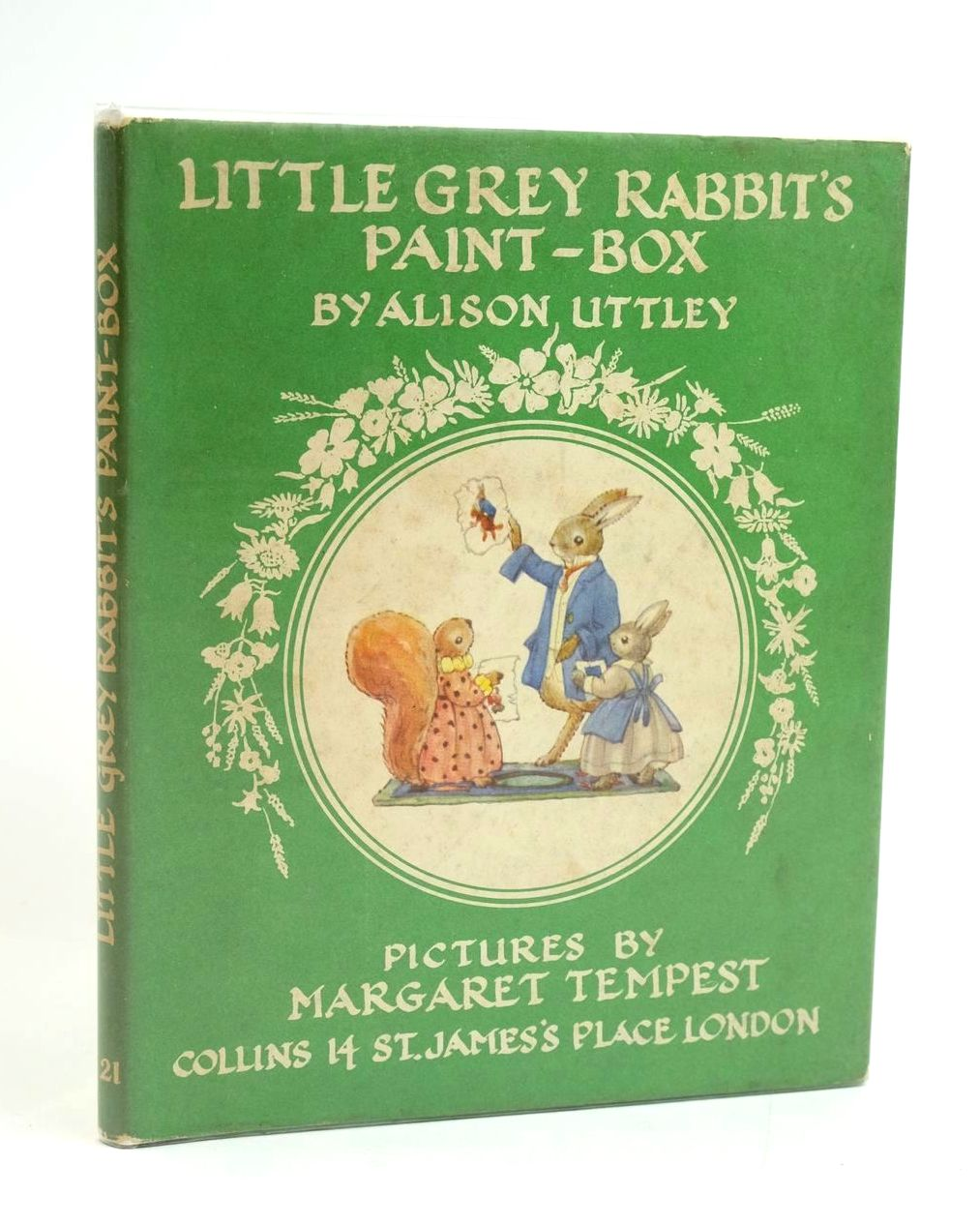 Photo of LITTLE GREY RABBIT'S PAINT-BOX written by Uttley, Alison illustrated by Tempest, Margaret published by Collins (STOCK CODE: 1319172)  for sale by Stella & Rose's Books