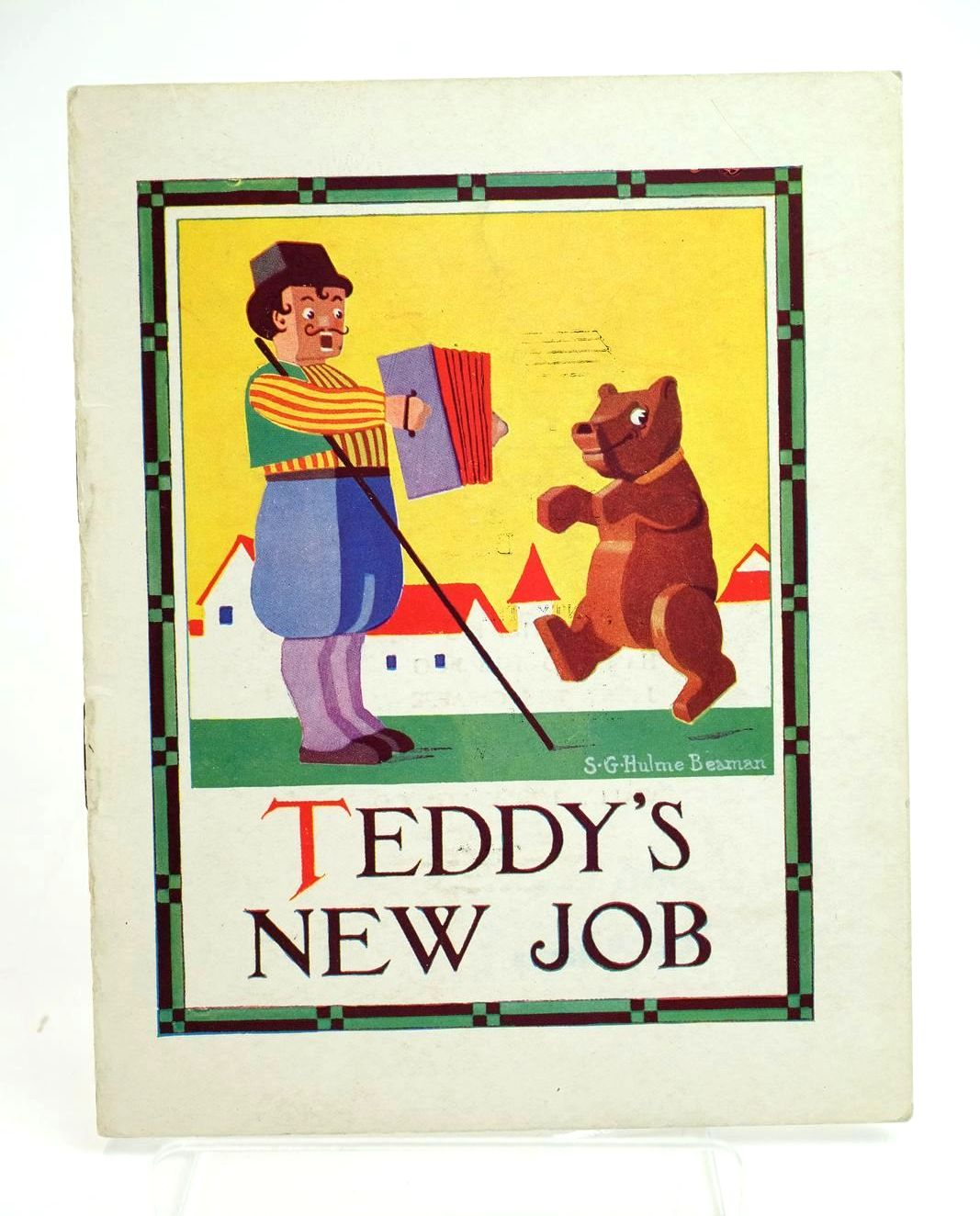 Photo of TEDDY'S NEW JOB written by Beaman, S.G. Hulme illustrated by Beaman, S.G. Hulme published by Frederick Warne & Co Ltd. (STOCK CODE: 1319174)  for sale by Stella & Rose's Books
