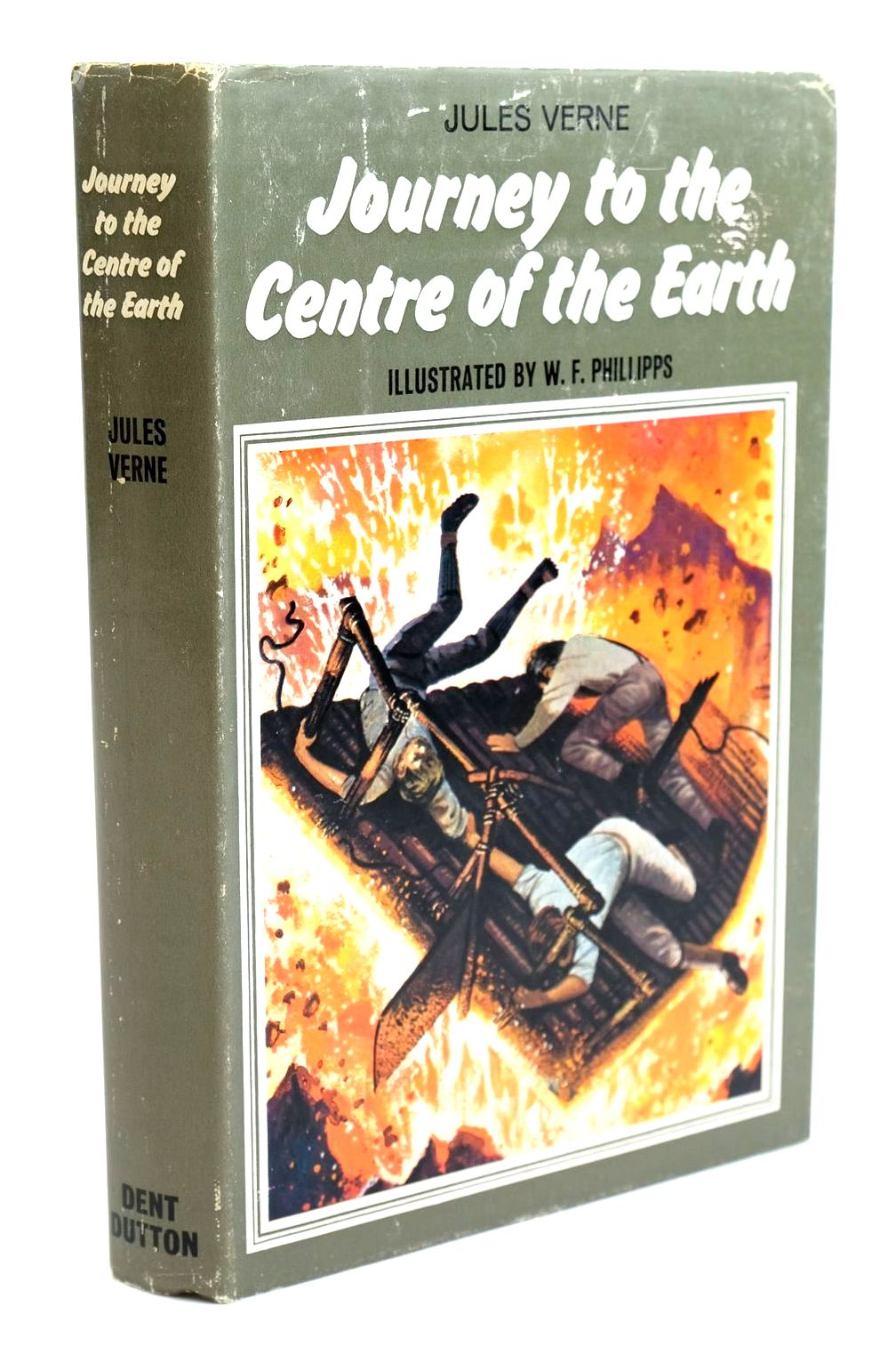 Photo of JOURNEY TO THE CENTRE OF THE EARTH written by Verne, Jules illustrated by Phillipps, W.F. published by J.M. Dent & Sons Ltd. (STOCK CODE: 1319189)  for sale by Stella & Rose's Books