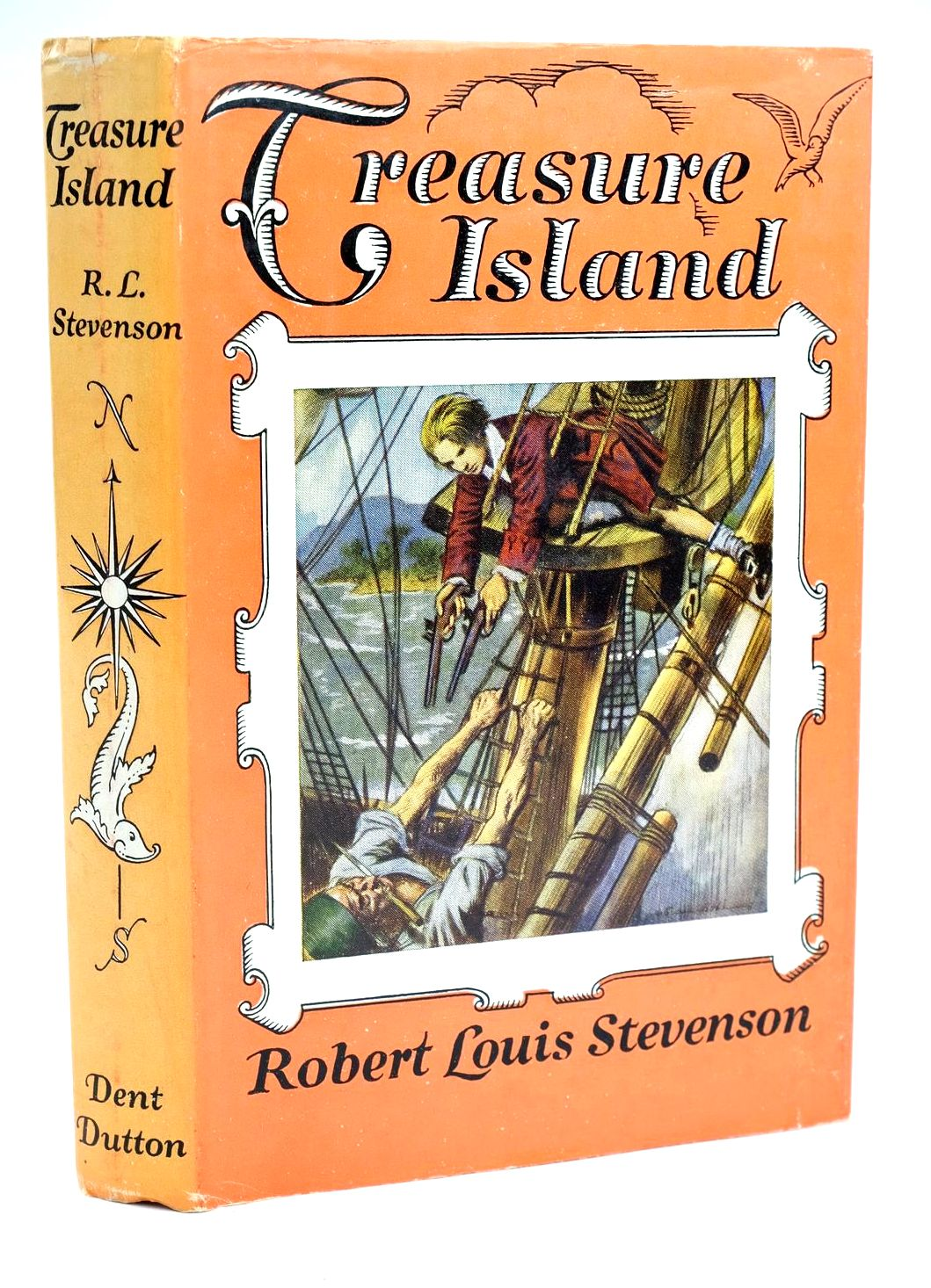 Photo of TREASURE ISLAND written by Stevenson, Robert Louis illustrated by Van Abbe, S. published by J.M. Dent & Sons Ltd. (STOCK CODE: 1319197)  for sale by Stella & Rose's Books