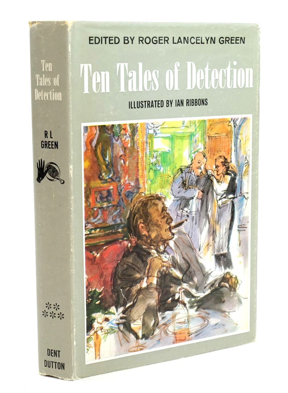 Photo of TEN TALES OF DETECTION written by Green, Roger Lancelyn illustrated by Ribbons, Ian published by J.M. Dent & Sons Ltd. (STOCK CODE: 1319200)  for sale by Stella & Rose's Books