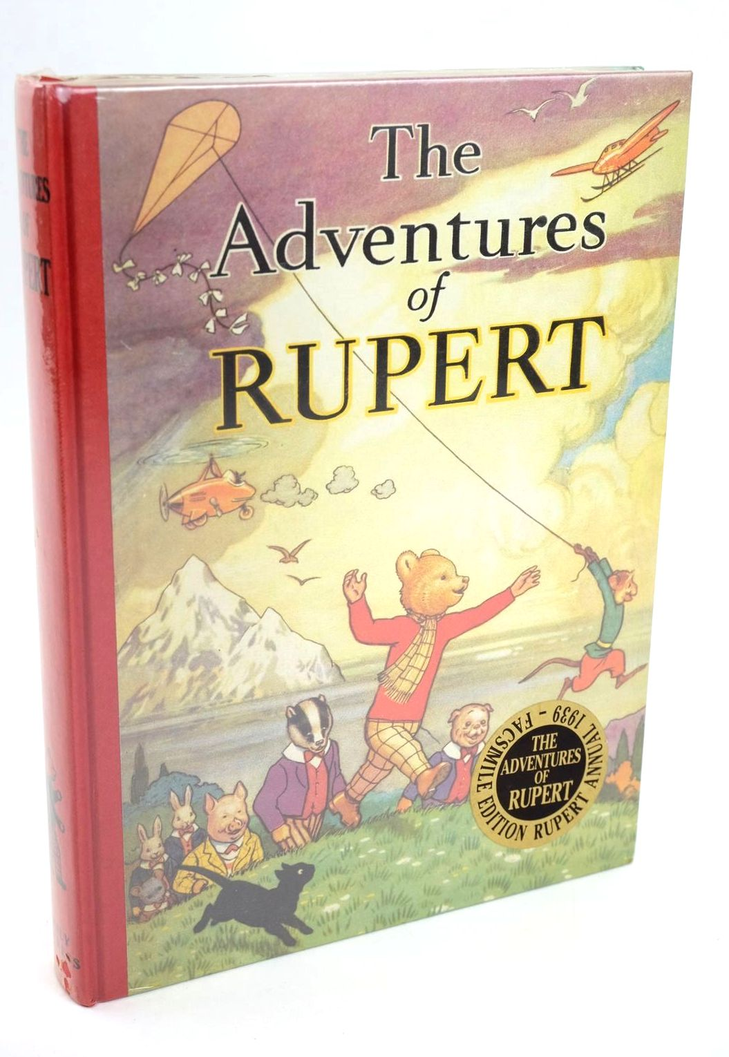 Photo of RUPERT ANNUAL 1939 (FACSIMILE) - THE ADVENTURES OF RUPERT written by Bestall, Alfred illustrated by Bestall, Alfred published by Daily Express (STOCK CODE: 1319201)  for sale by Stella & Rose's Books