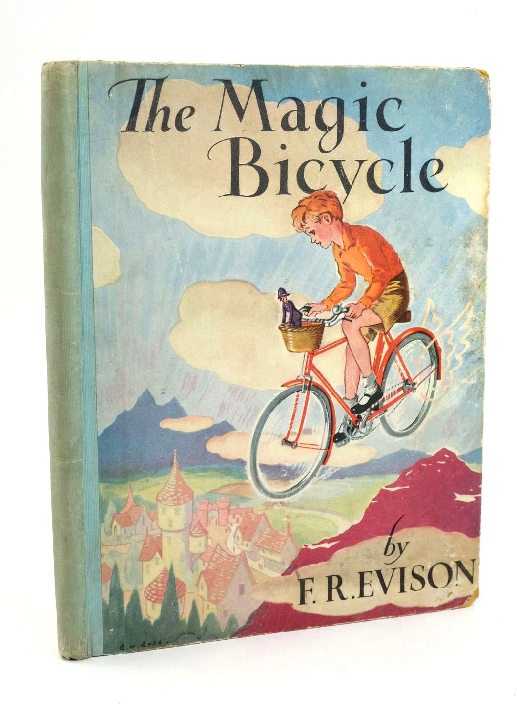 Photo of THE MAGIC BICYCLE written by Evison, F.R. illustrated by Goss, G.W. published by Hammond, Hammond & Company Ltd. (STOCK CODE: 1319202)  for sale by Stella & Rose's Books