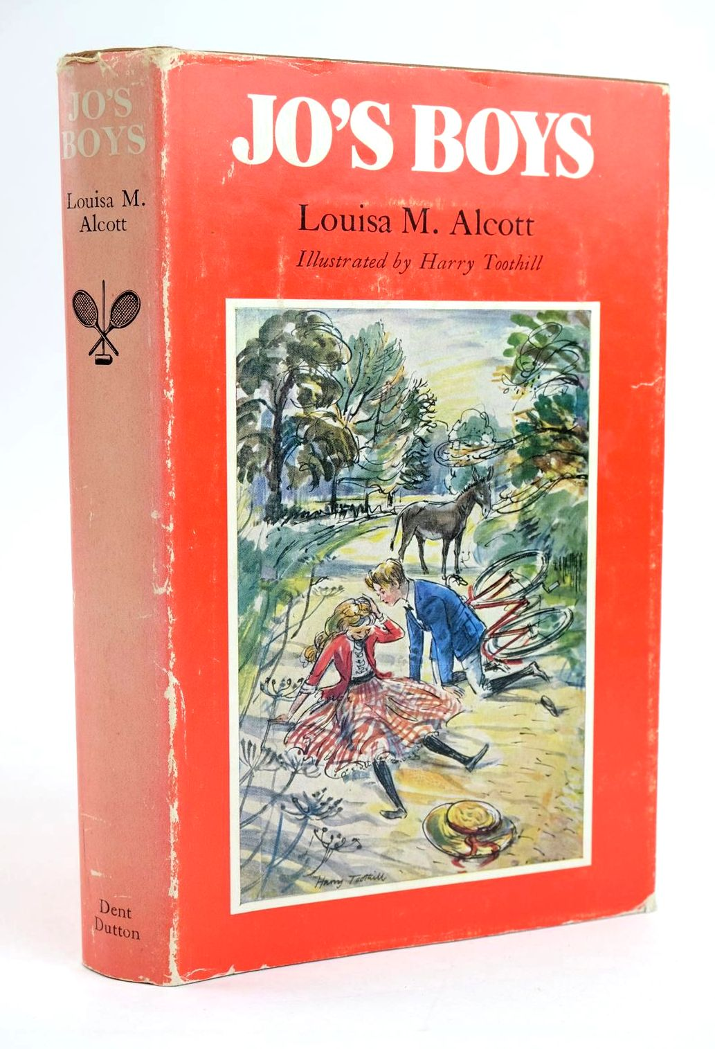 Photo of JO'S BOYS written by Alcott, Louisa M. illustrated by Toothill, Harry published by J.M. Dent & Sons Ltd., E.P. Dutton & Co. Inc. (STOCK CODE: 1319219)  for sale by Stella & Rose's Books
