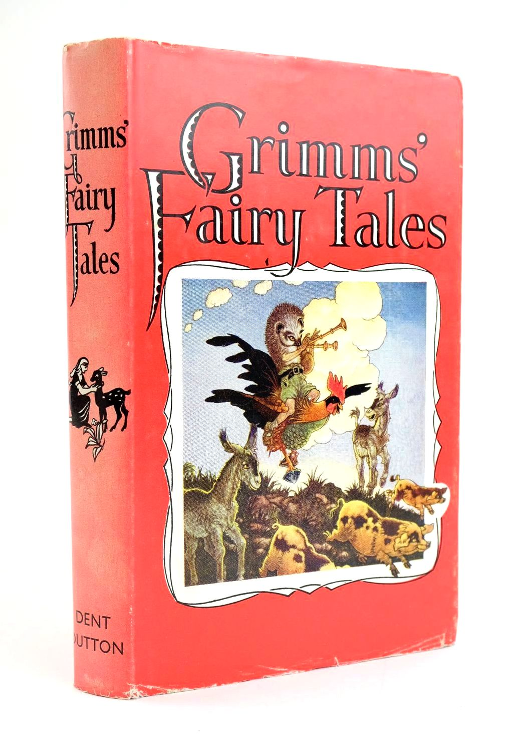 Photo of GRIMMS' FAIRY TALES written by Grimm, Brothers illustrated by Folkard, Charles published by J.M. Dent & Sons Ltd. (STOCK CODE: 1319220)  for sale by Stella & Rose's Books