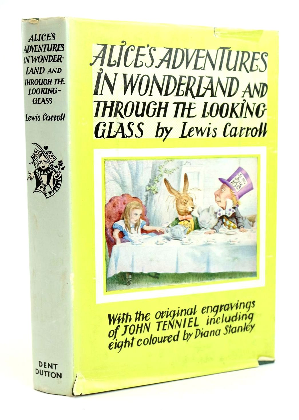 Photo of ALICE'S ADVENTURES IN WONDERLAND AND THROUGH THE LOOKING-GLASS written by Carroll, Lewis illustrated by Tenniel, John Stanley, Diana published by J.M. Dent & Sons Ltd. (STOCK CODE: 1319221)  for sale by Stella & Rose's Books
