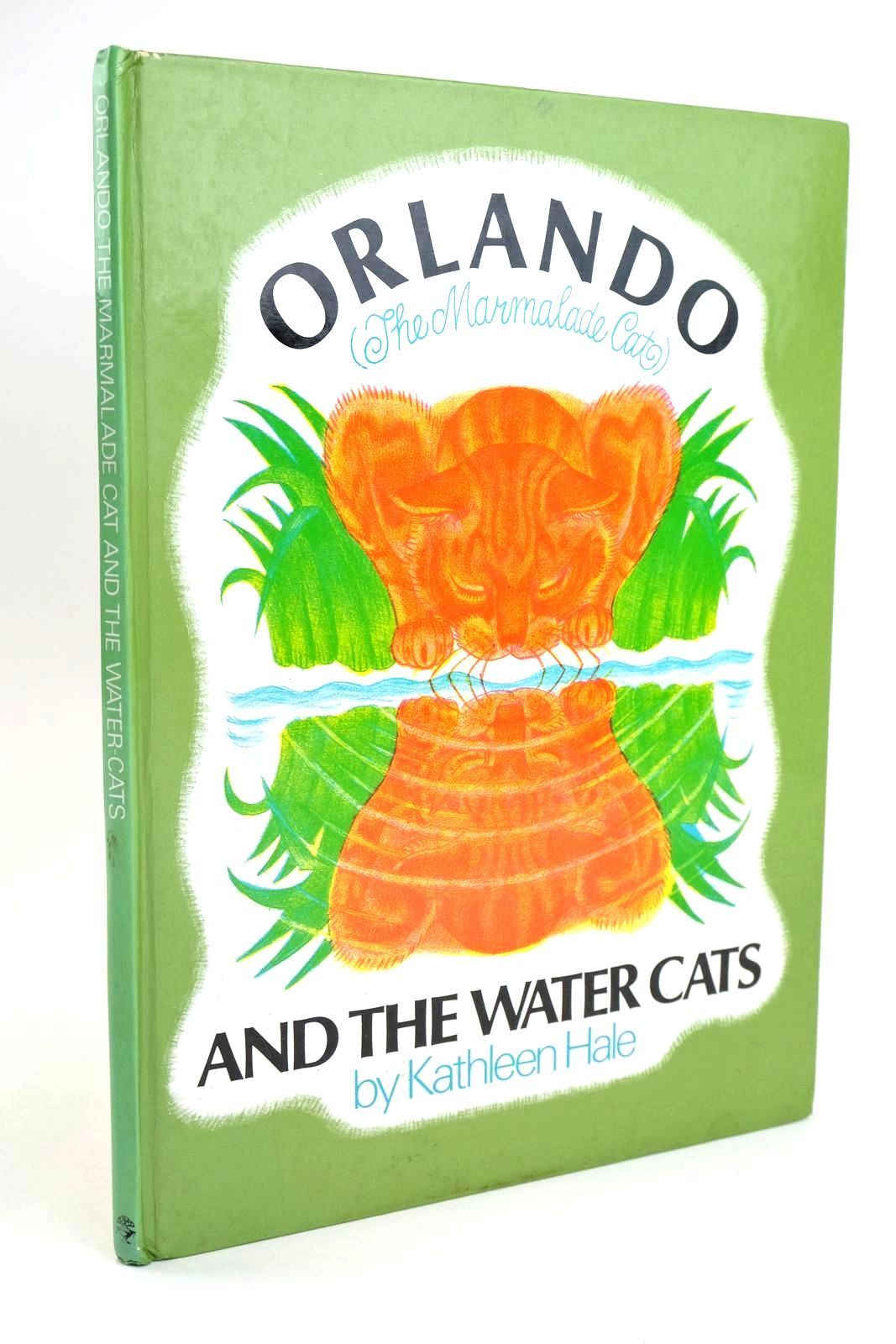 Photo of ORLANDO (THE MARMALADE CAT) AND THE WATER CATS written by Hale, Kathleen illustrated by Hale, Kathleen published by Jonathan Cape (STOCK CODE: 1319223)  for sale by Stella & Rose's Books