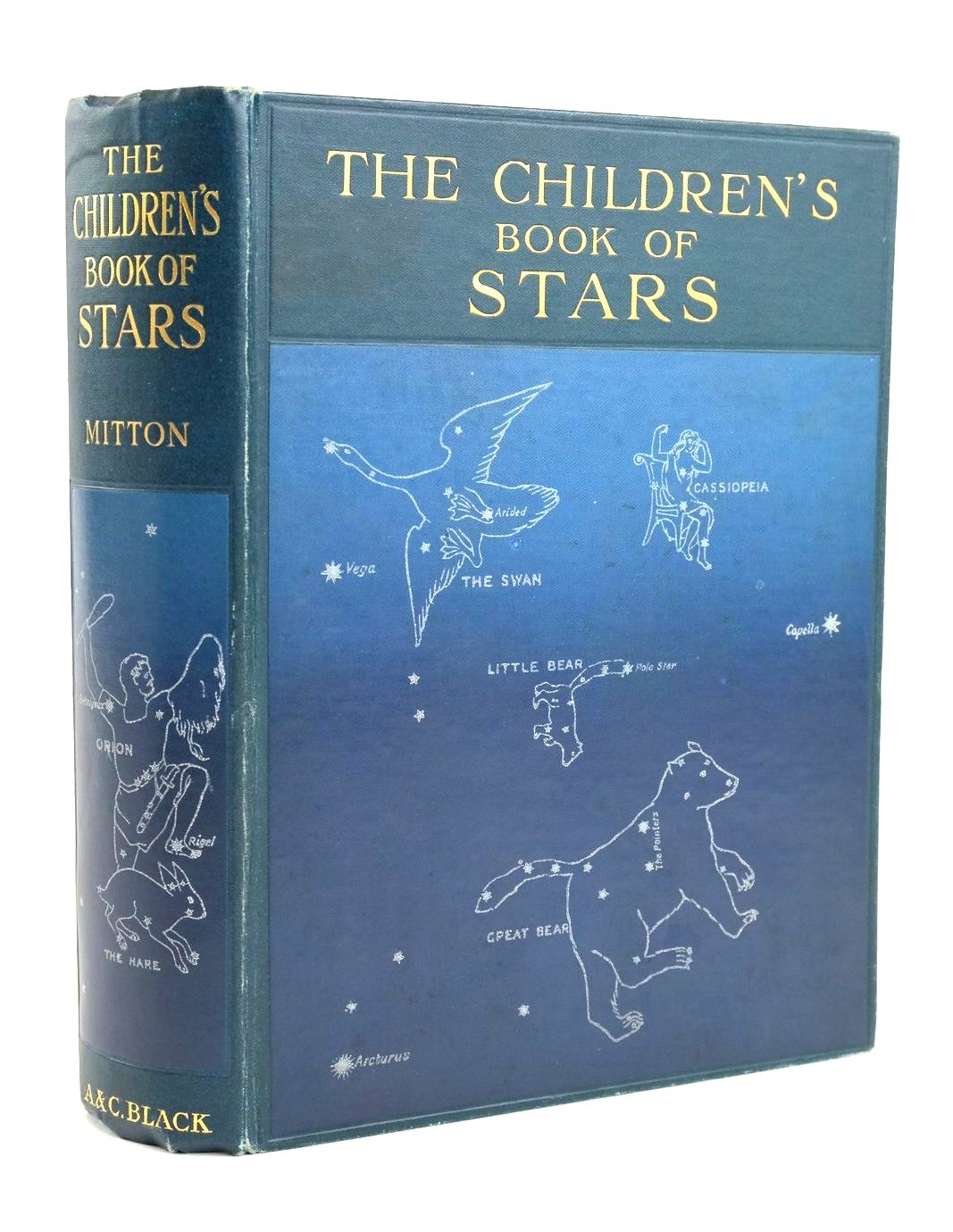 Photo of THE CHILDREN'S BOOK OF STARS written by Mitton, G.E. published by Adam & Charles Black (STOCK CODE: 1319225)  for sale by Stella & Rose's Books