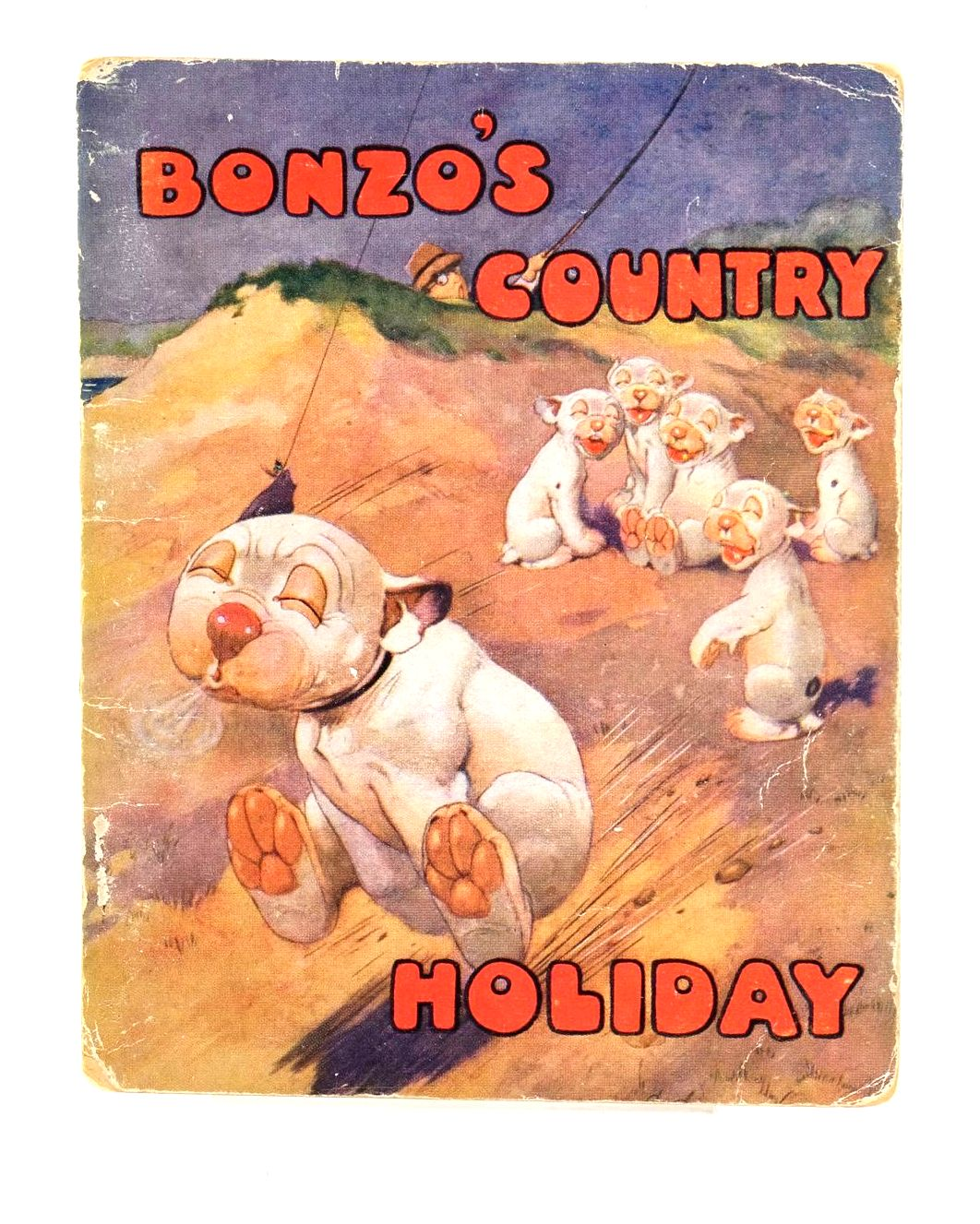 Photo of BONZO'S COUNTRY HOLIDAY written by Studdy, G.E. Jellicoe, George illustrated by Studdy, G.E. published by John Swain & Son Limited, E.P. Dutton & Co. (STOCK CODE: 1319259)  for sale by Stella & Rose's Books