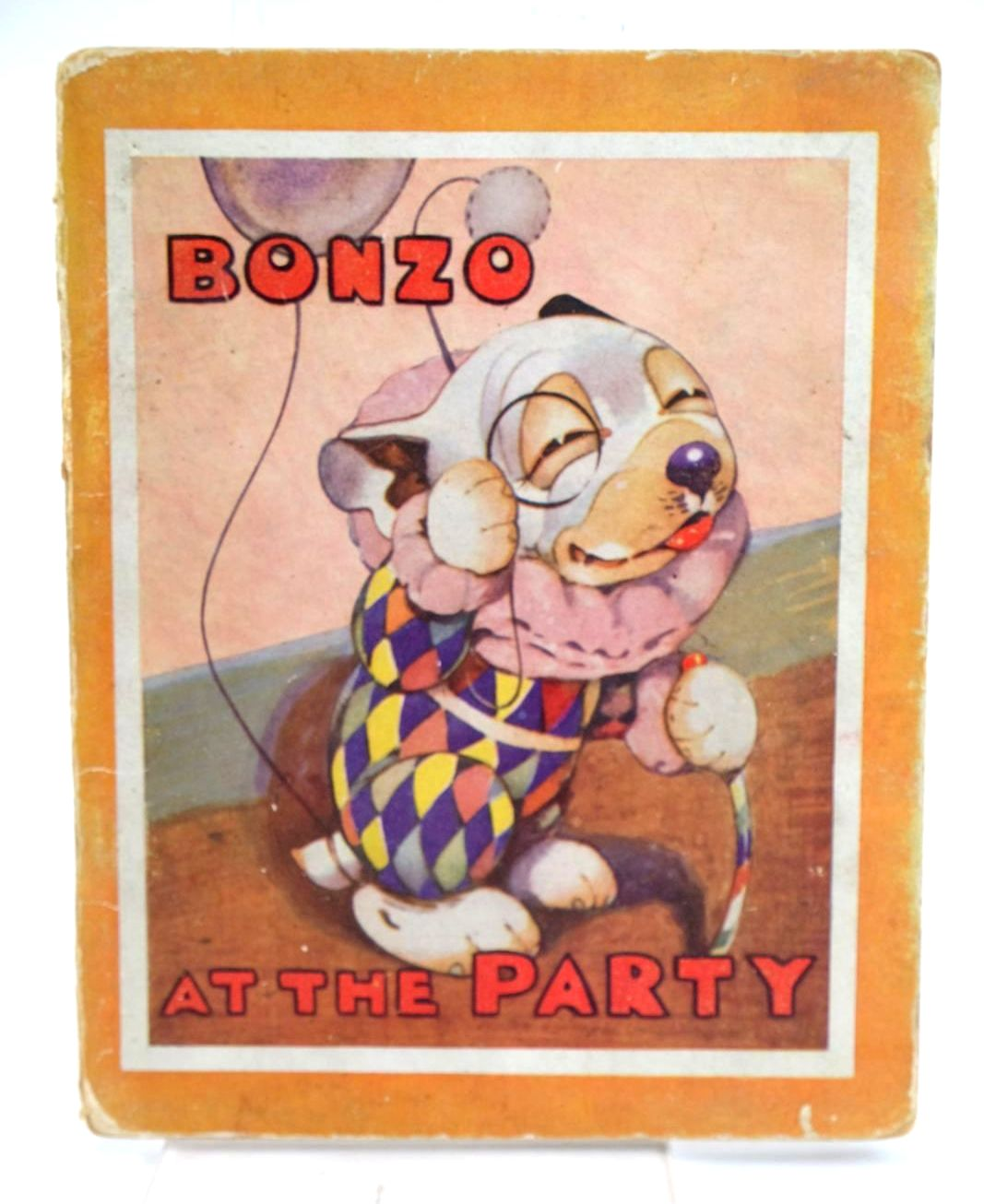 Photo of BONZO AT THE PARTY written by Studdy, G.E. Jellicoe, George illustrated by Studdy, G.E. published by John Swain & Son Limited (STOCK CODE: 1319260)  for sale by Stella & Rose's Books